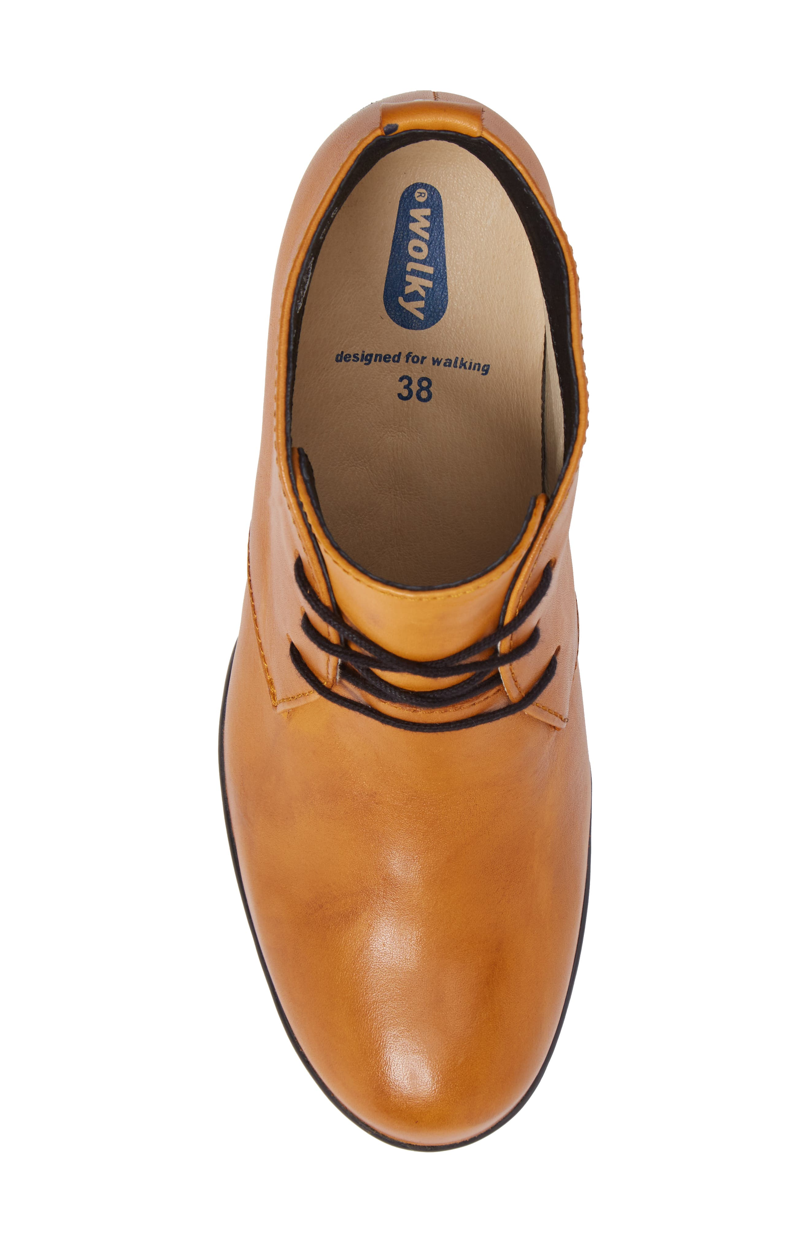Bighorn Bootie,                             Alternate thumbnail 5, color,                             Curry Leather