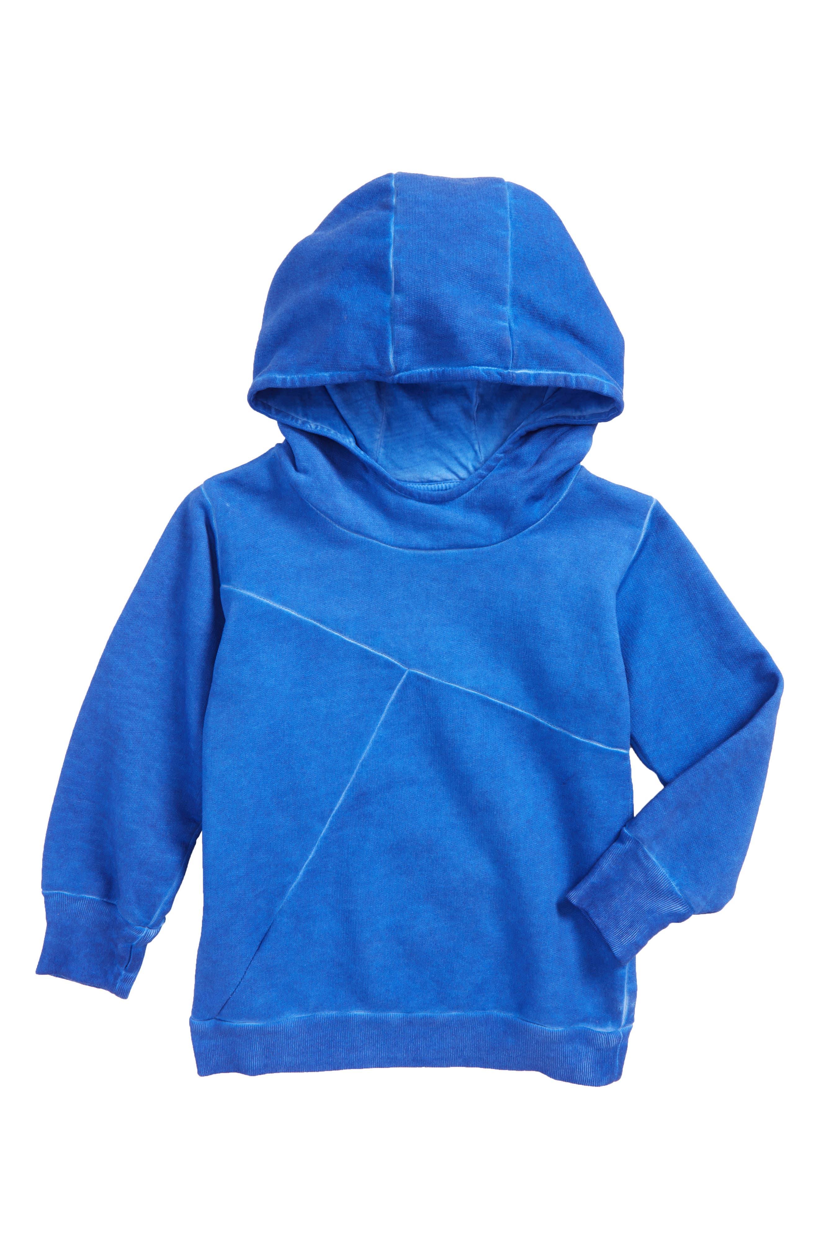 Alternate Image 1 Selected - NUNUNU Numbered Hoodie (Toddler Boys & Little Boys)