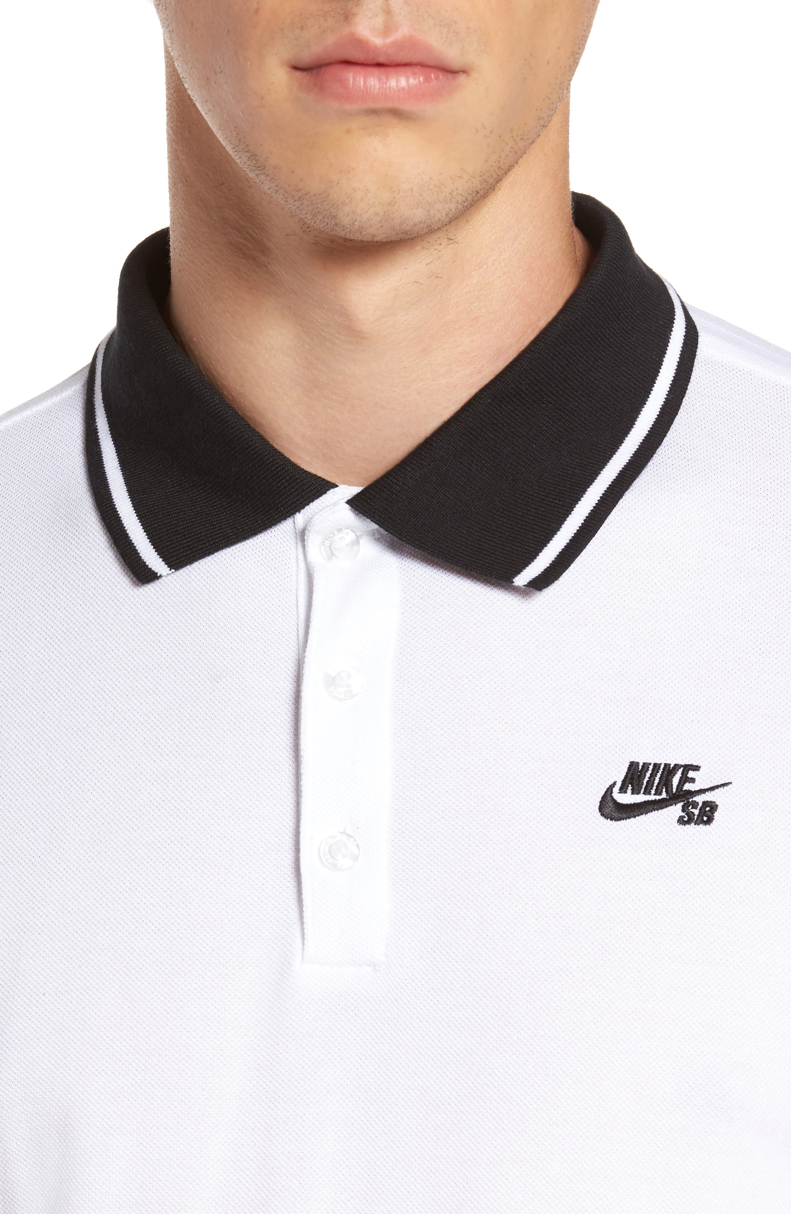 Alternate Image 4  - Nike SB Piqué Polo