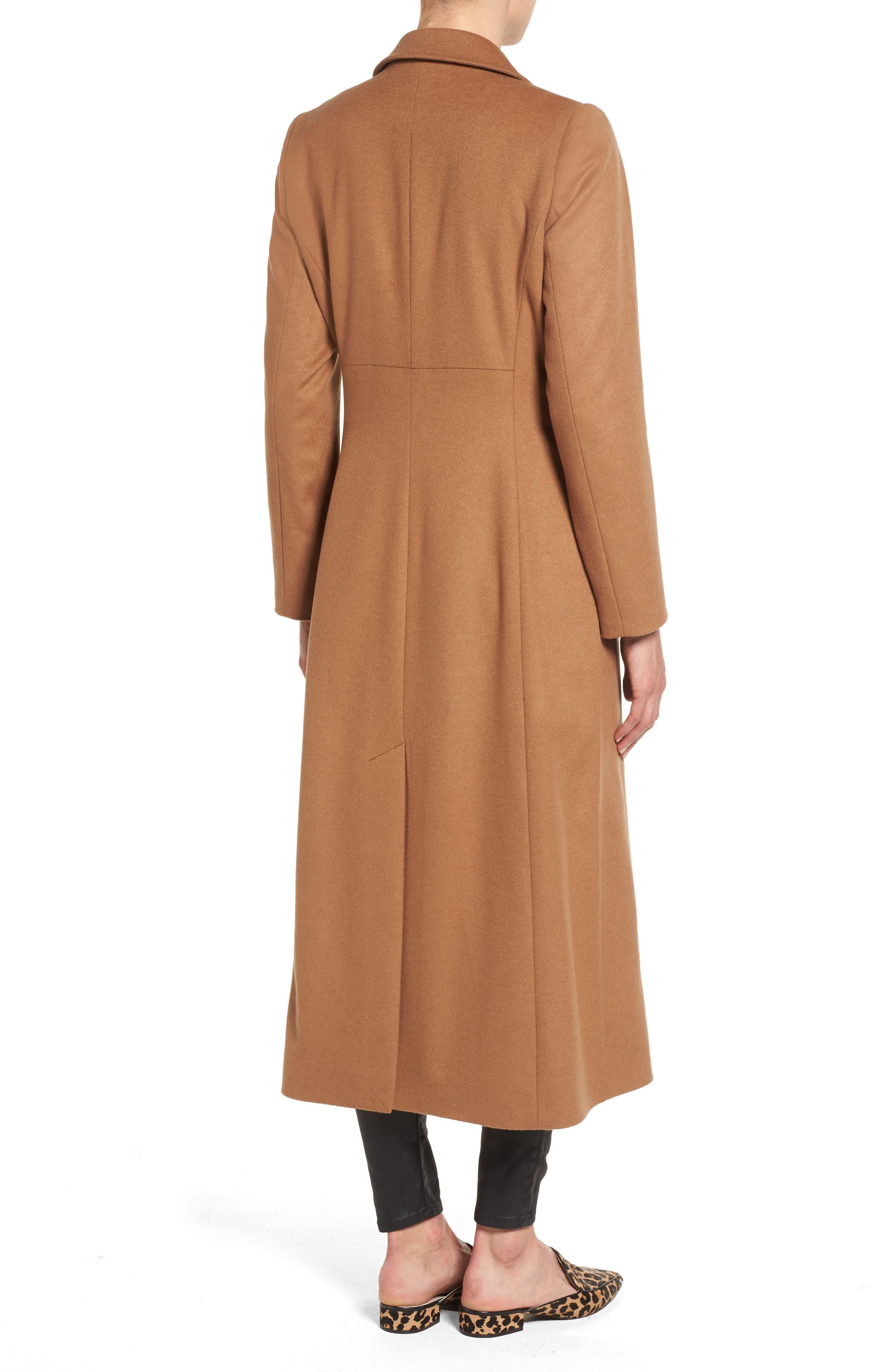 Alternate Image 2  - trina Trina Turk Emi Wool Blend Coat