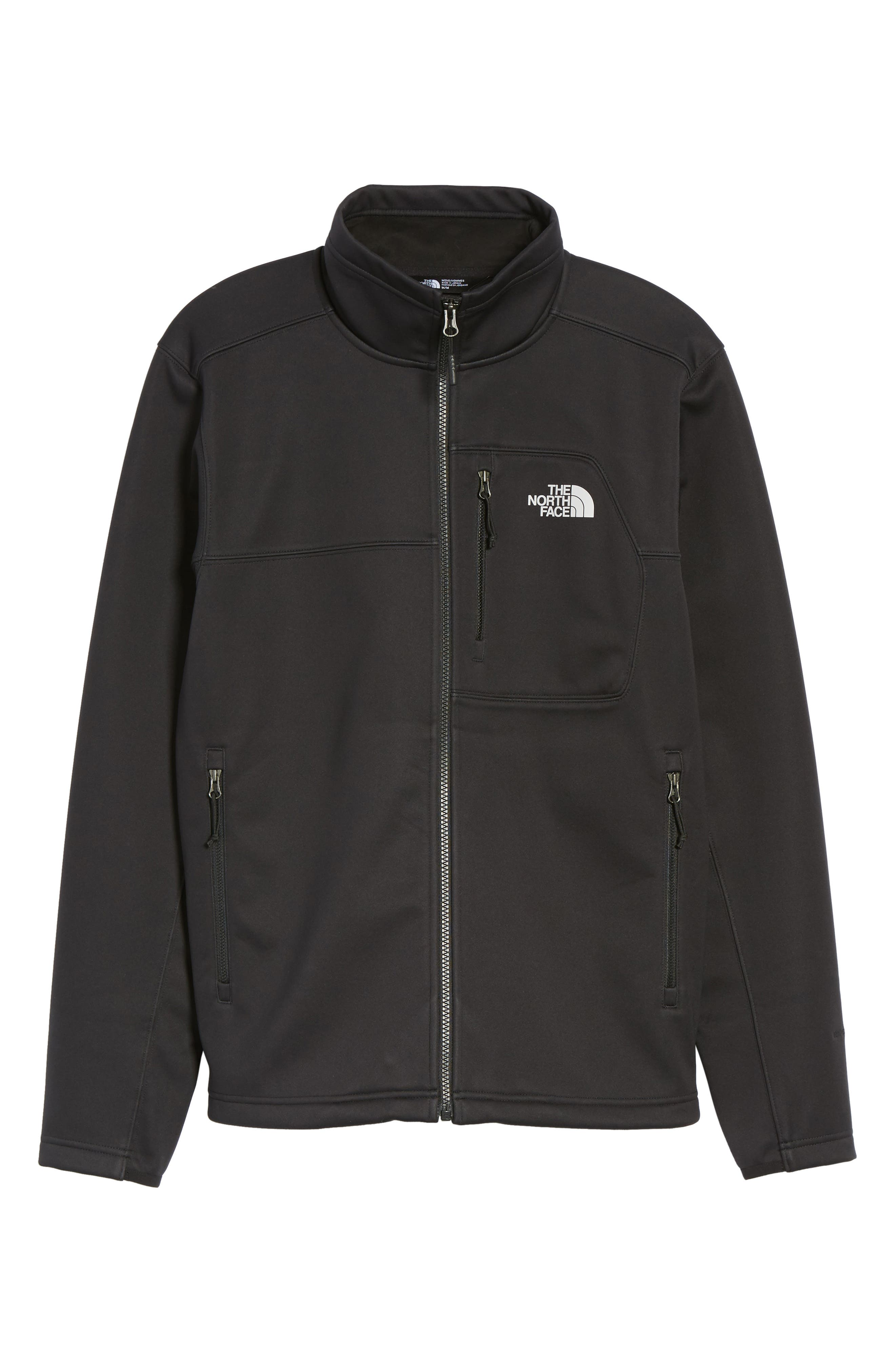 Apex Risor Jacket,                             Alternate thumbnail 6, color,                             Black/ Black