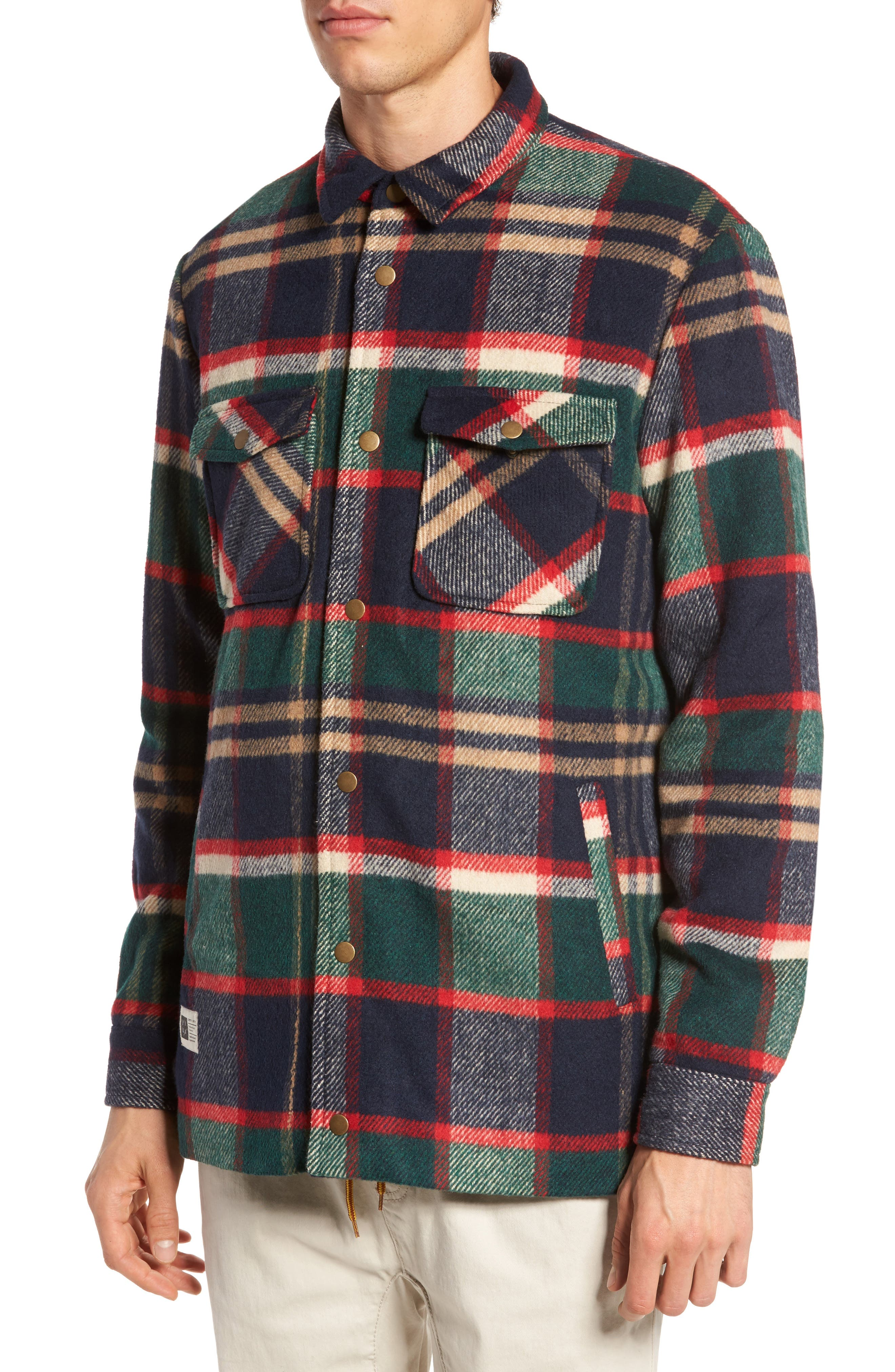 Mulberry Jacket,                             Alternate thumbnail 4, color,                             Navy