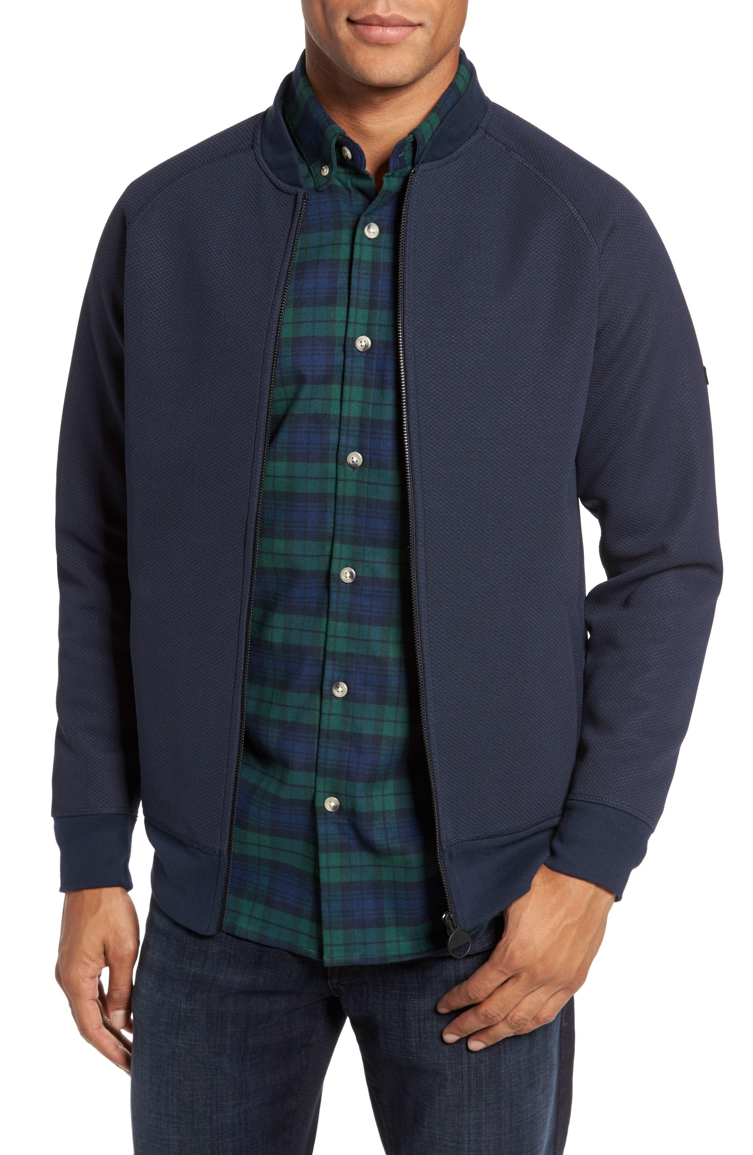 International Direction Sports Zip Front Jacket,                         Main,                         color, Dark Navy