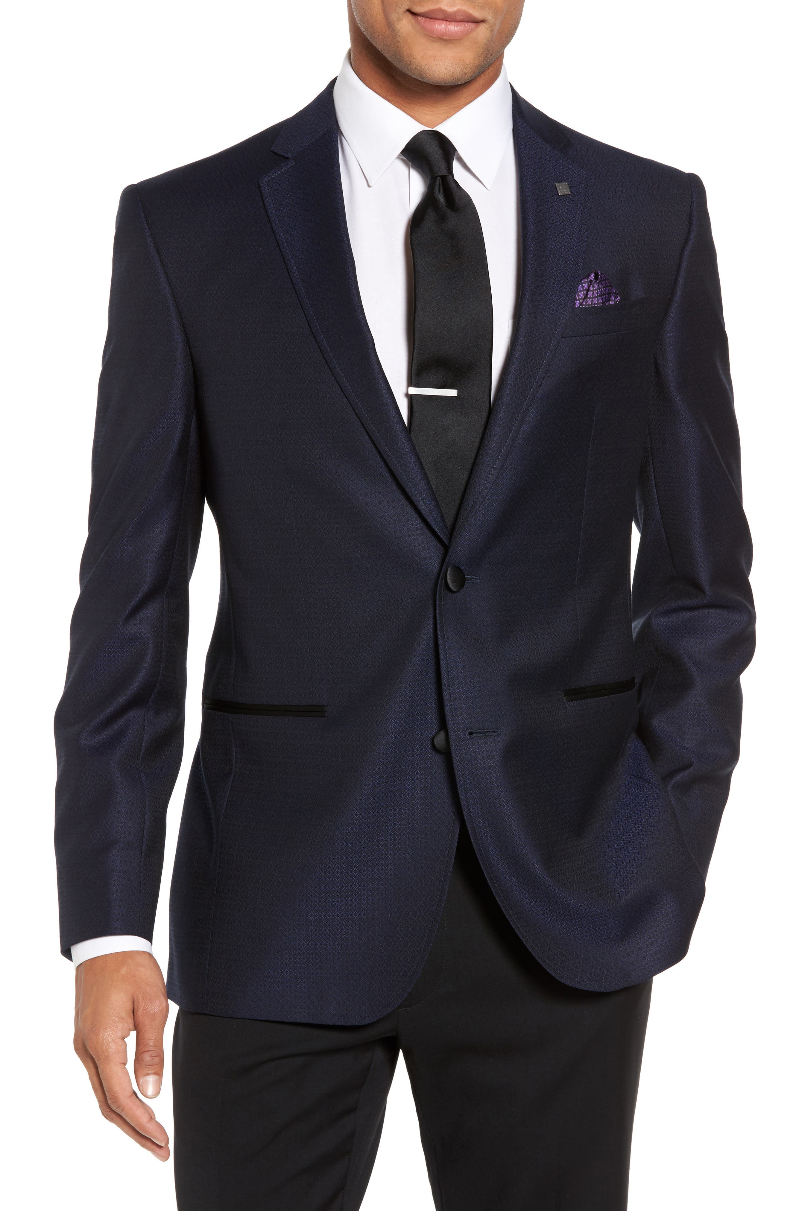 Main Image - Ted Baker London Jack Trim Fit Wool Dinner Jacket