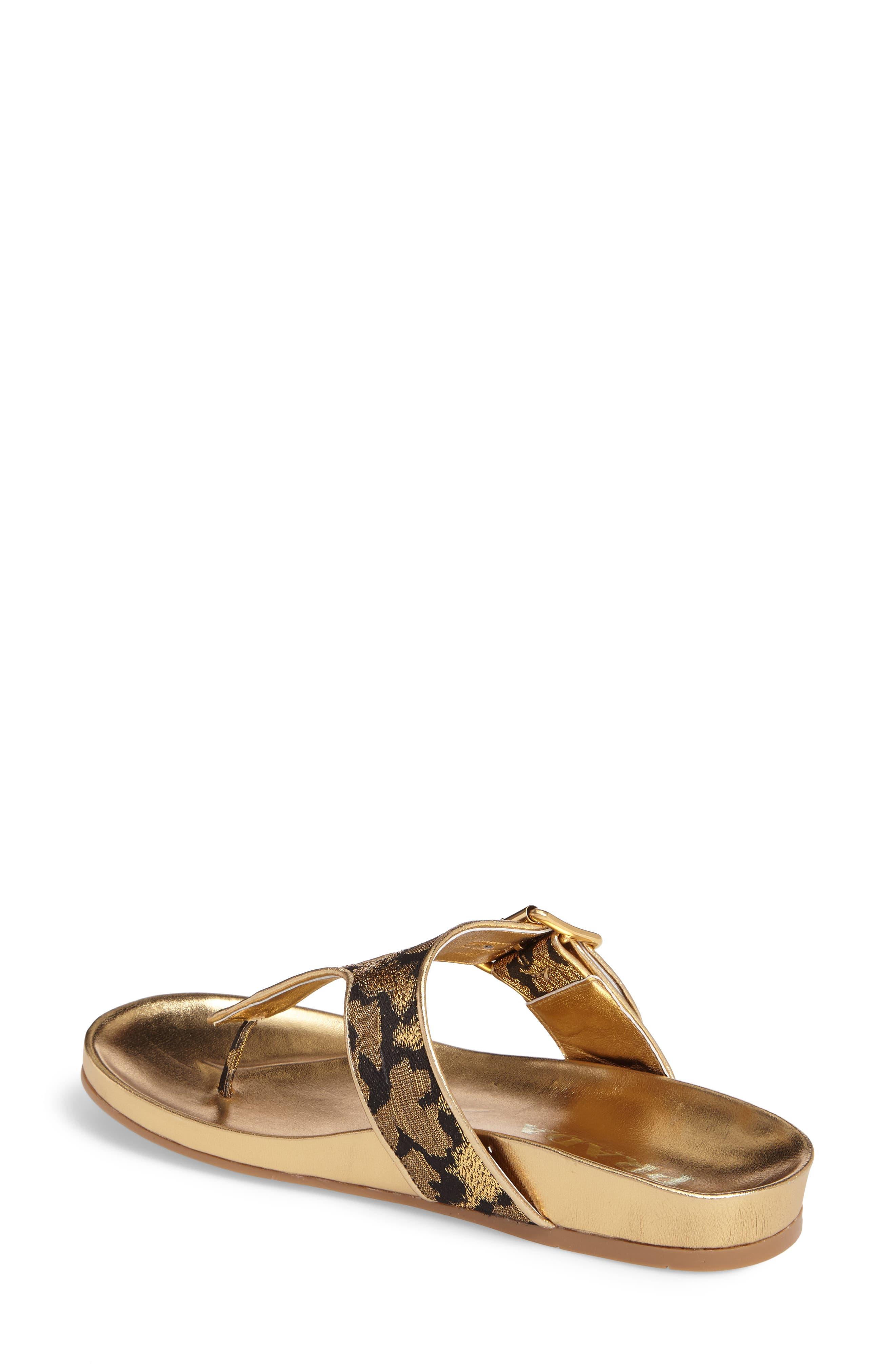 Alternate Image 2  - Prada Glitter Thong Sandal (Women)