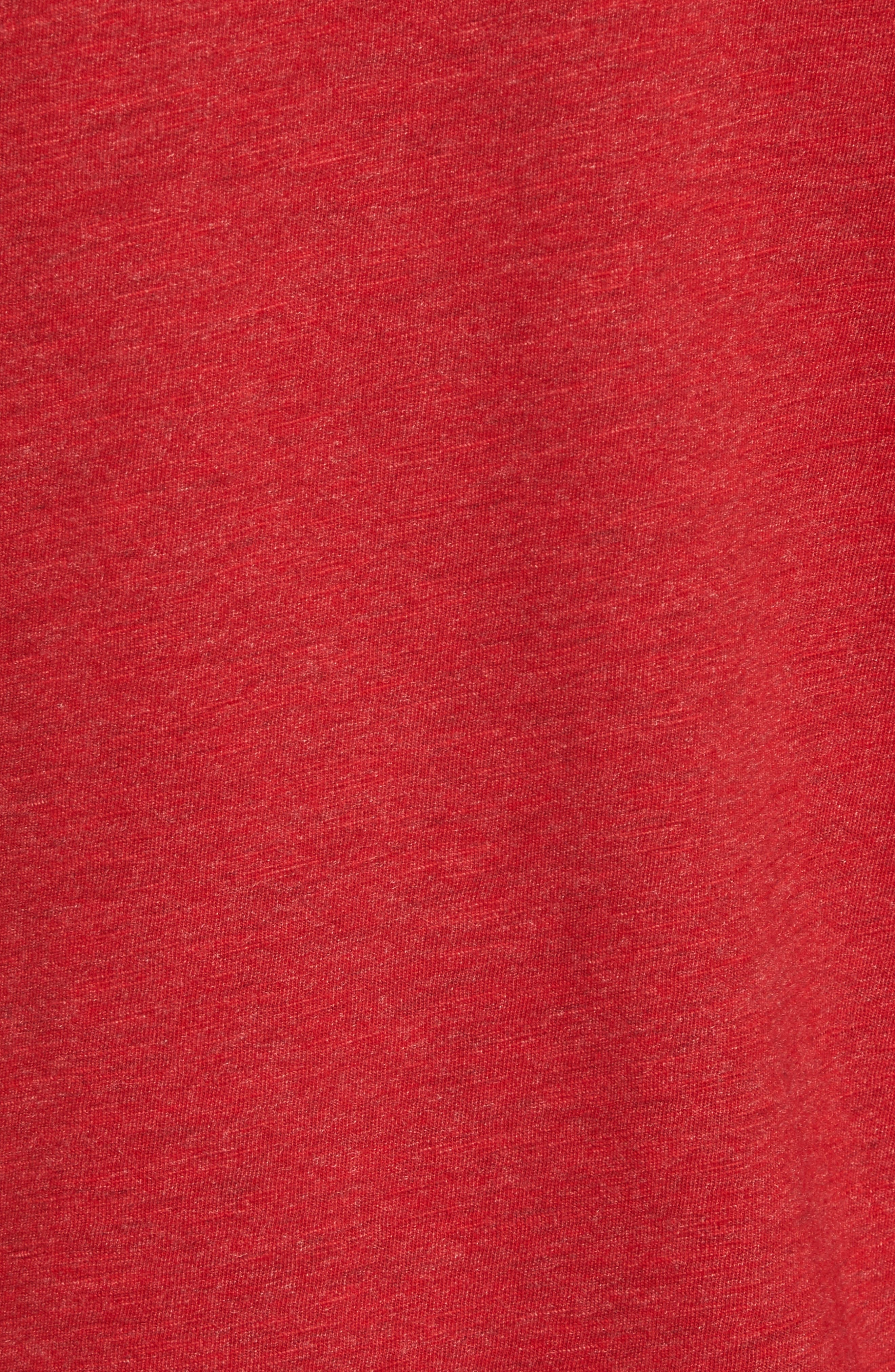 V-Neck T-Shirt,                             Alternate thumbnail 5, color,                             Coccinelle Dyed