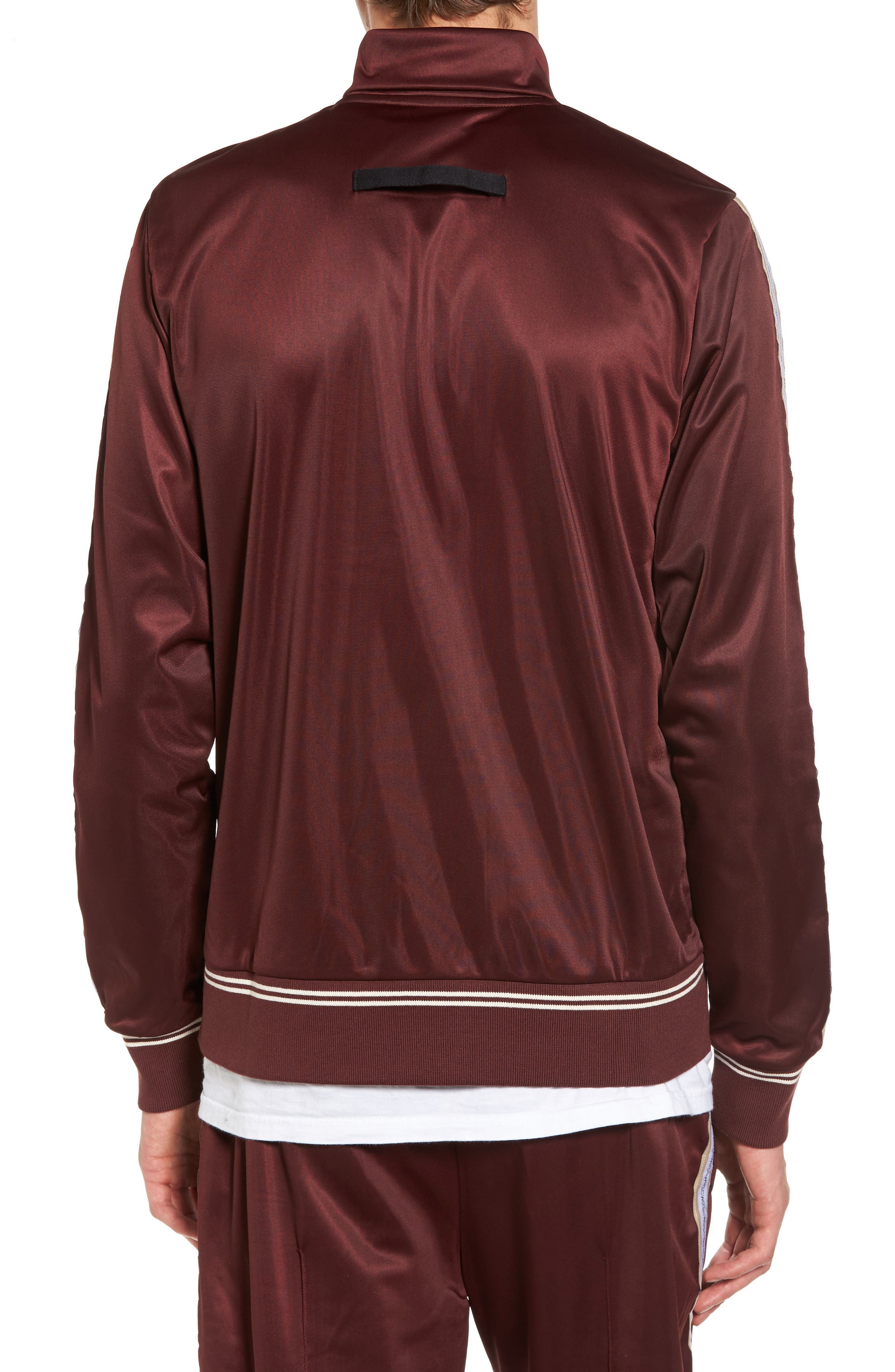 Marcus Track Jacket,                             Alternate thumbnail 2, color,                             Red Port