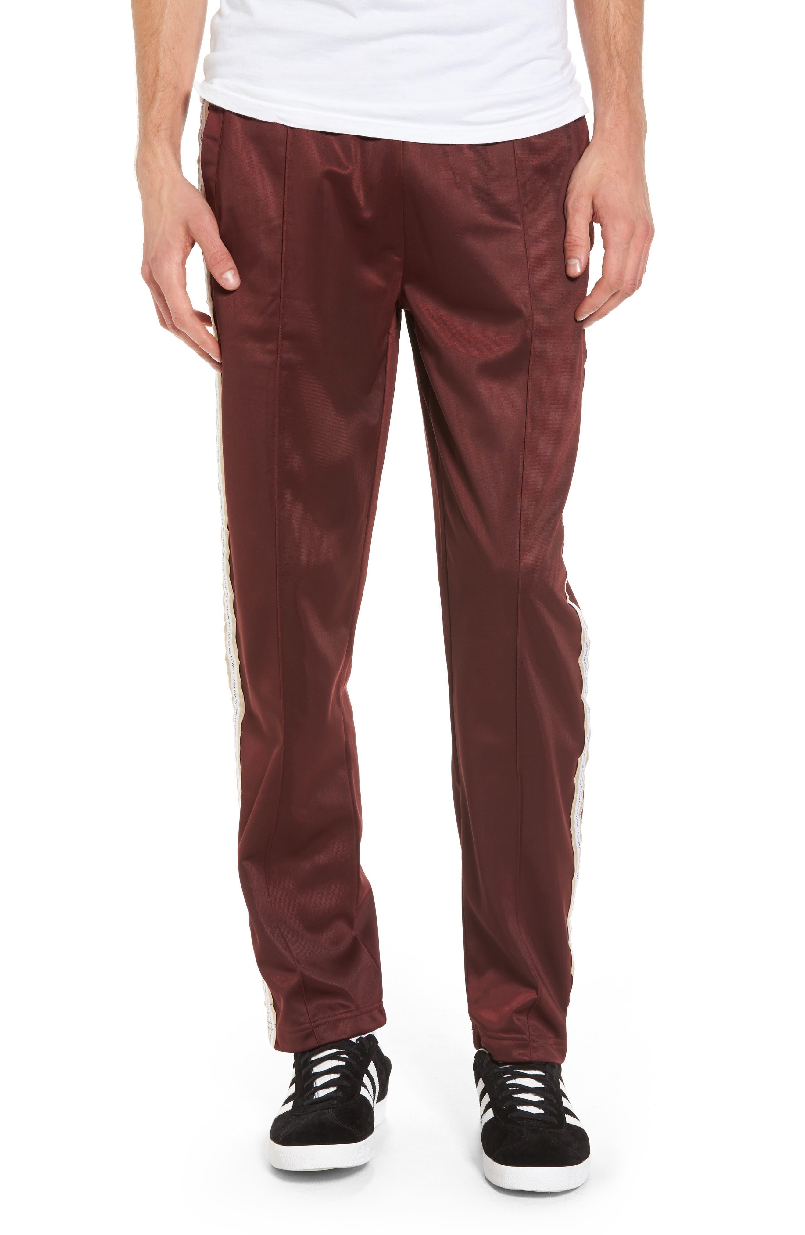 Marcel Track Pants,                         Main,                         color, Red Port