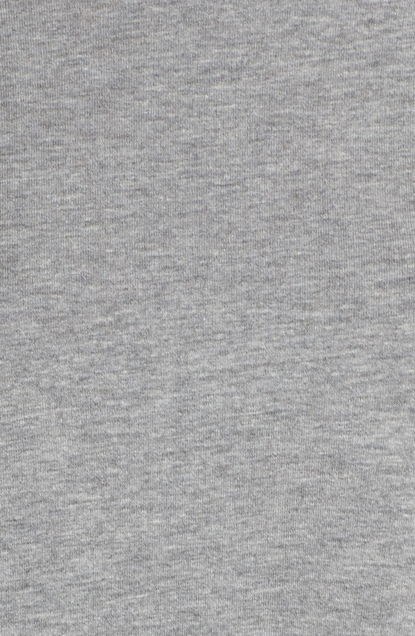 High/Low Sweatshirt,                             Alternate thumbnail 7, color,                             Heather Grey