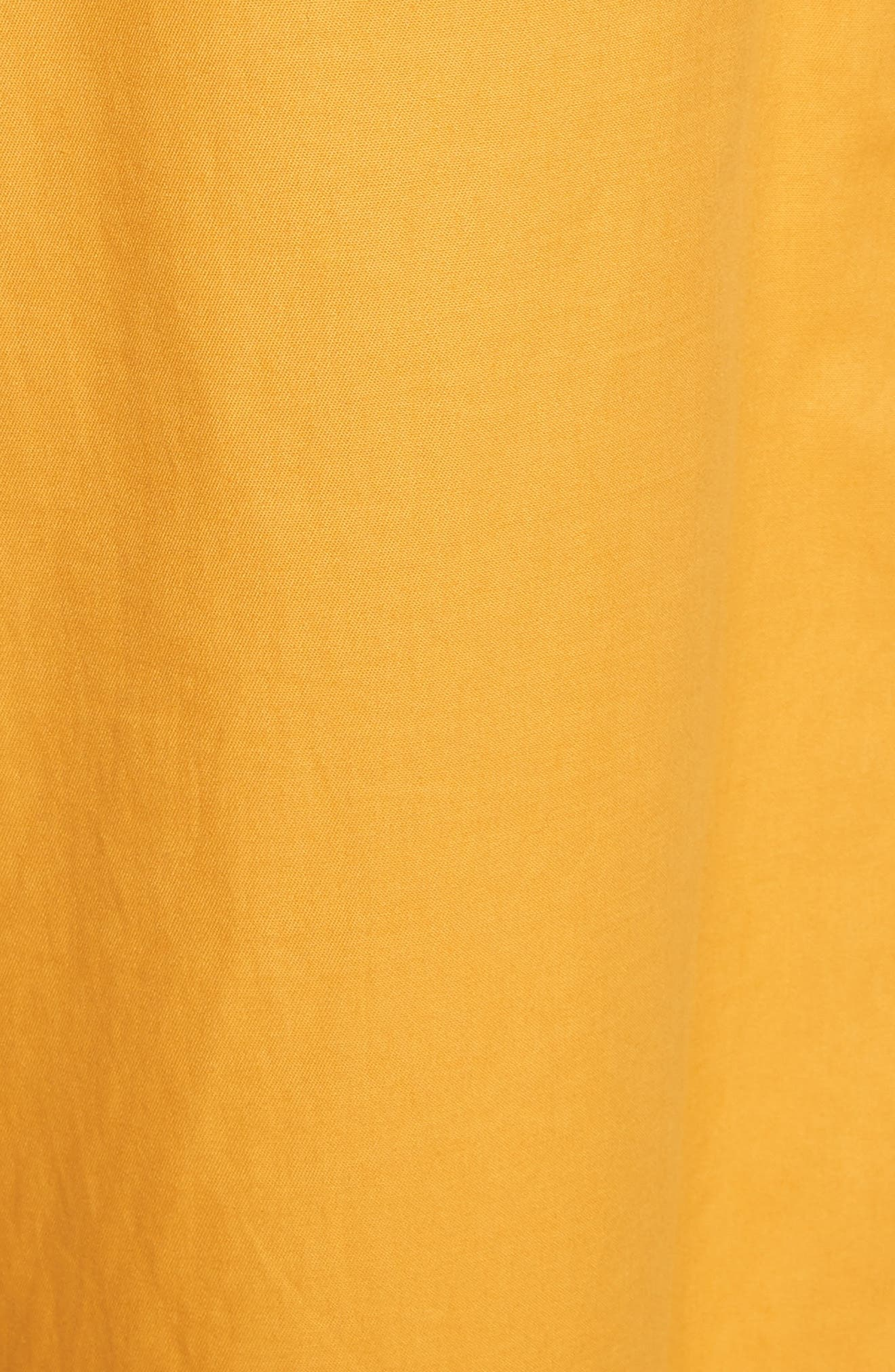 Corset Waist Culottes,                             Alternate thumbnail 7, color,                             Tangerine