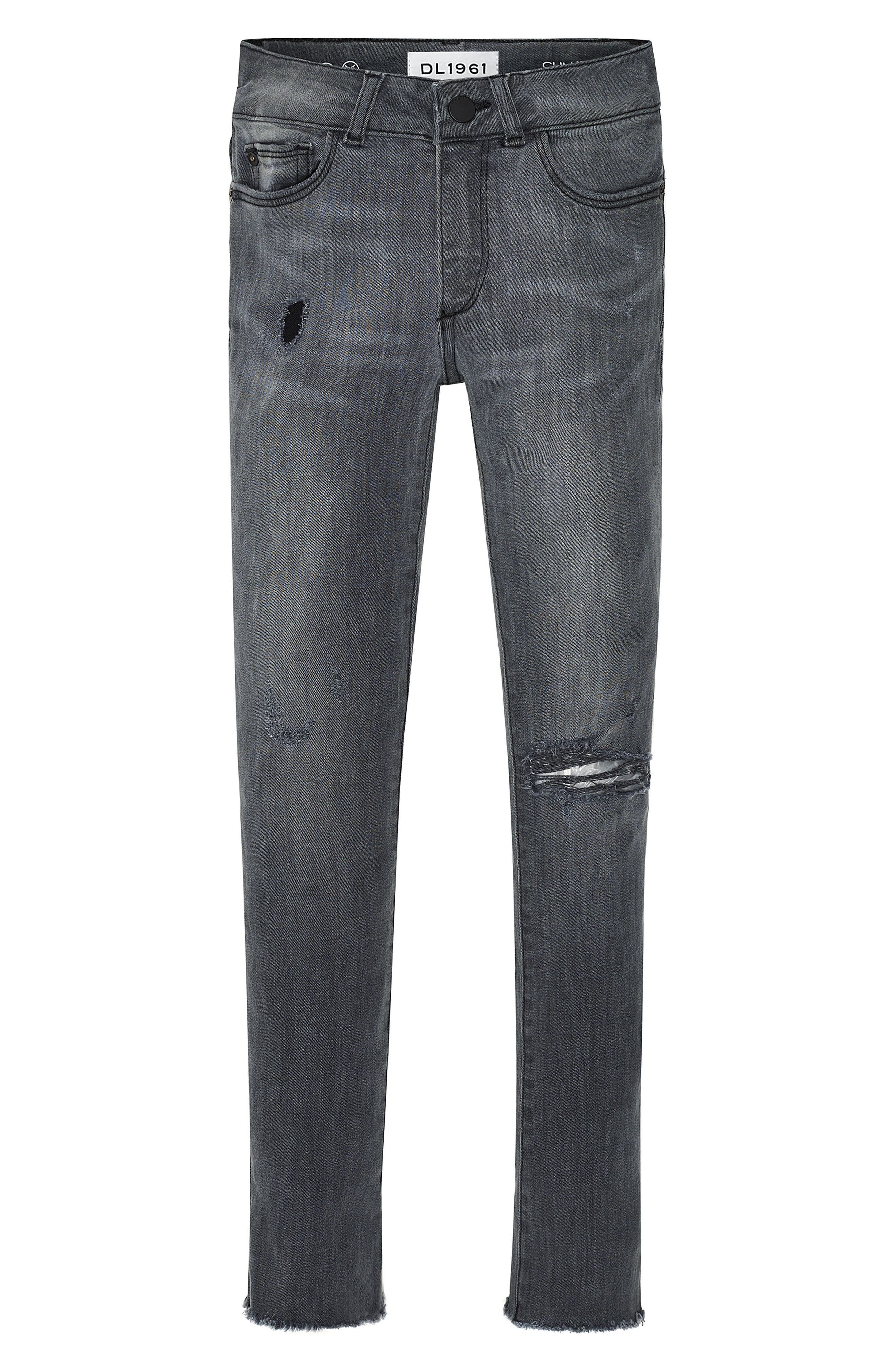 Chloe Raw Hem Skinny Jeans,                         Main,                         color, Sierra
