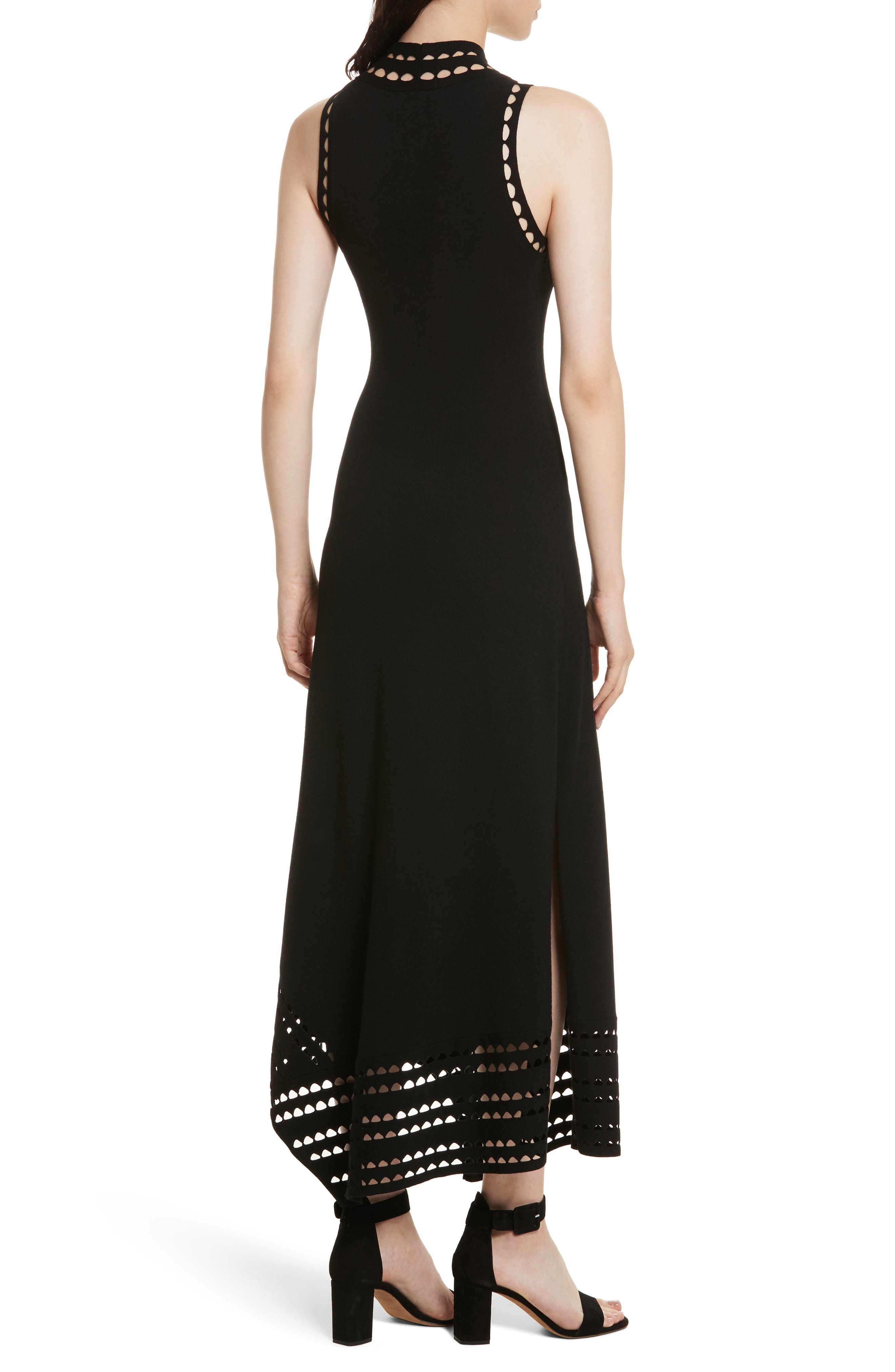 Alternate Image 2  - Elizabeth and James Liza Mock Neck Maxi Dress