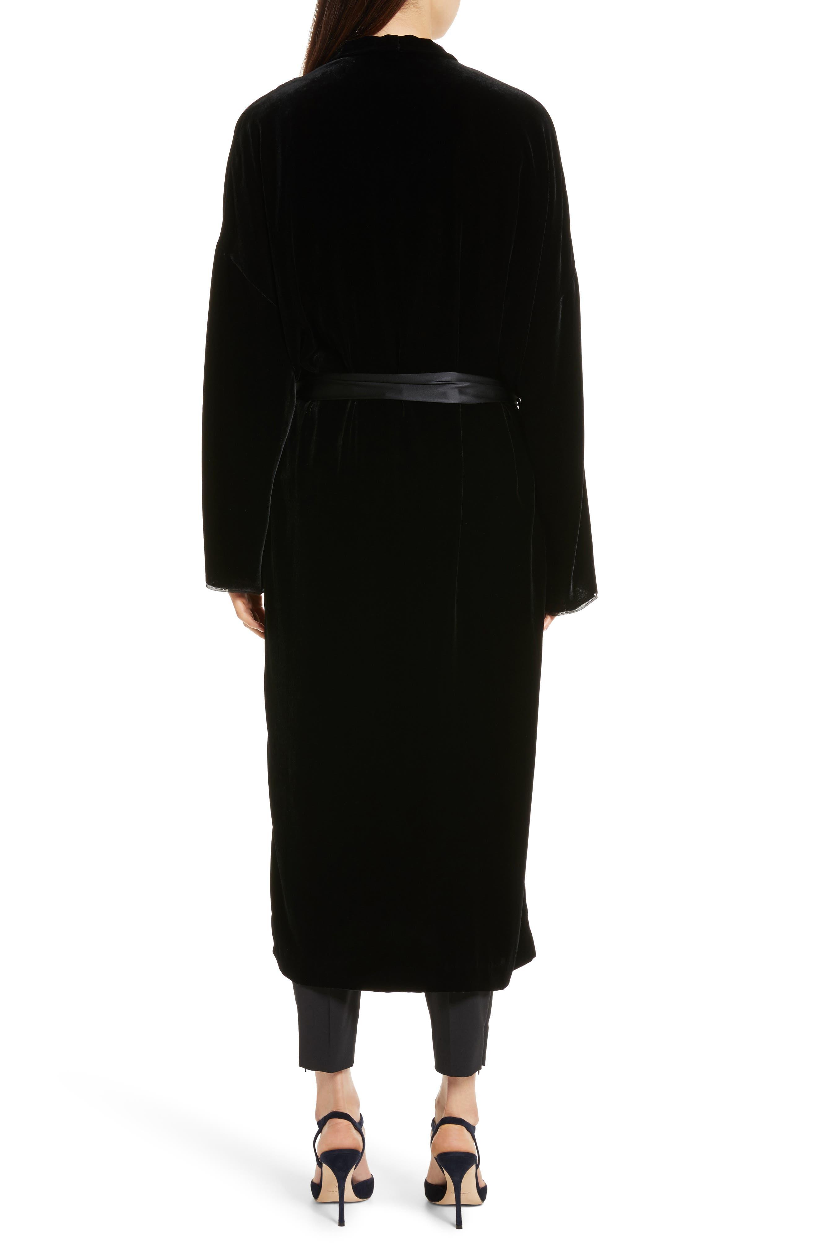 Alternate Image 3  - Nili Lotan Muna Velvet Kimono