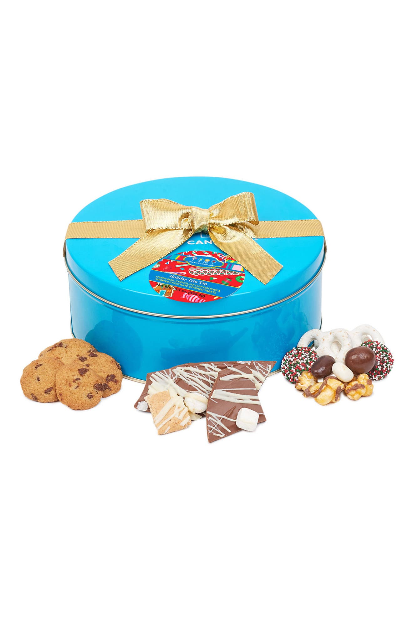 Dylan's Candy Bar Signature Turquoise Gift Tin