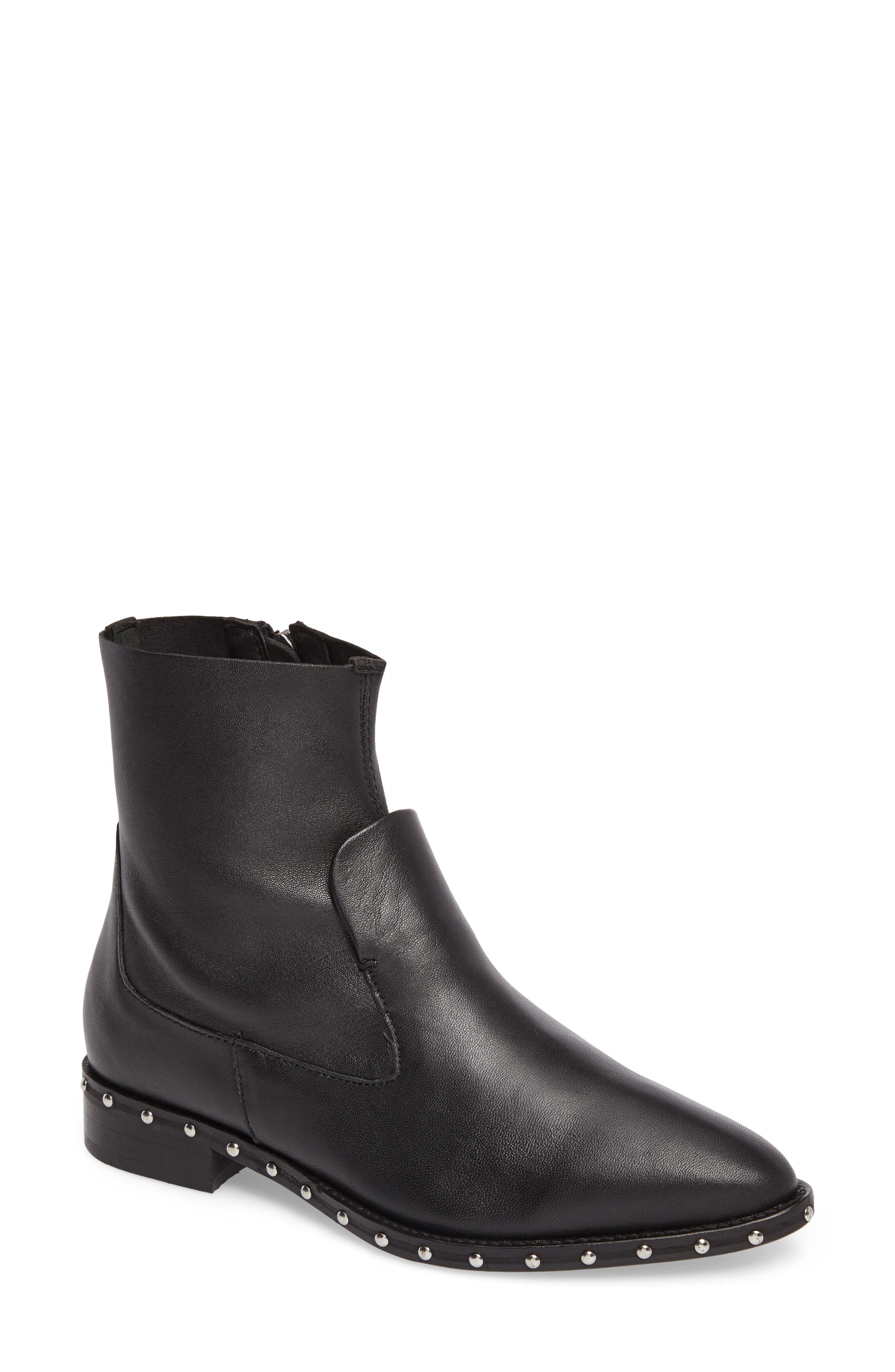 Topshop Aiden Stud Sock Boot