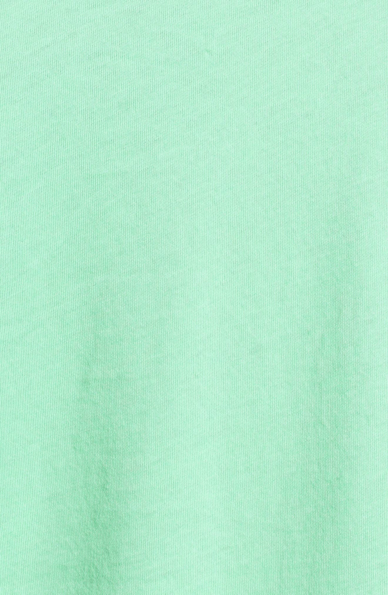 I Love You a Bunch Tee,                             Alternate thumbnail 5, color,                             Mint Julep