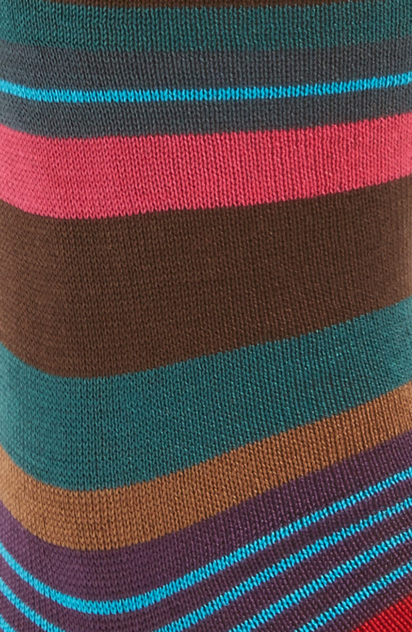 Alternate Image 2  - Paul Smith Halentoe Stripe Socks