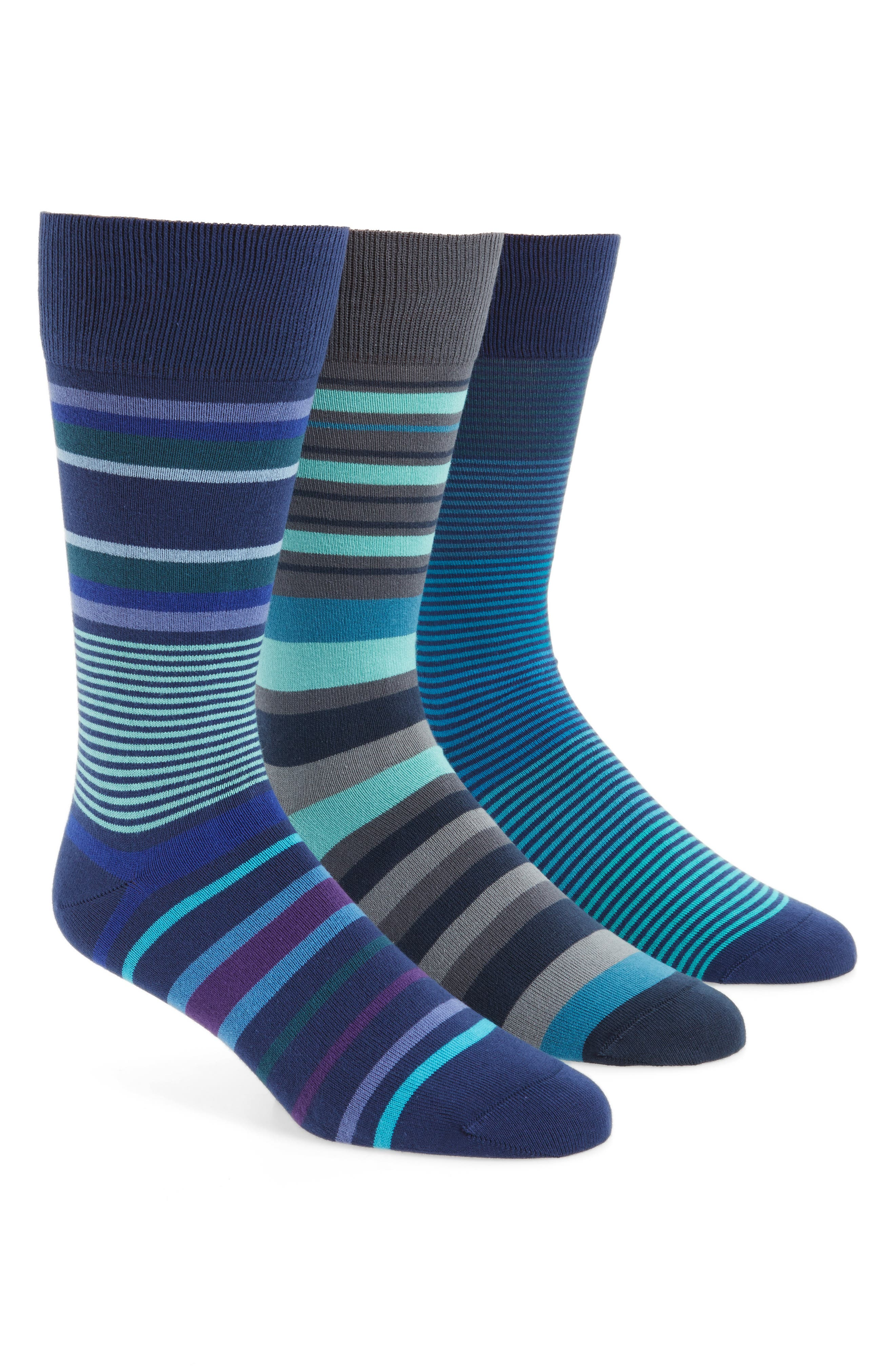 Paul Smith 3-Pack Stripe Socks