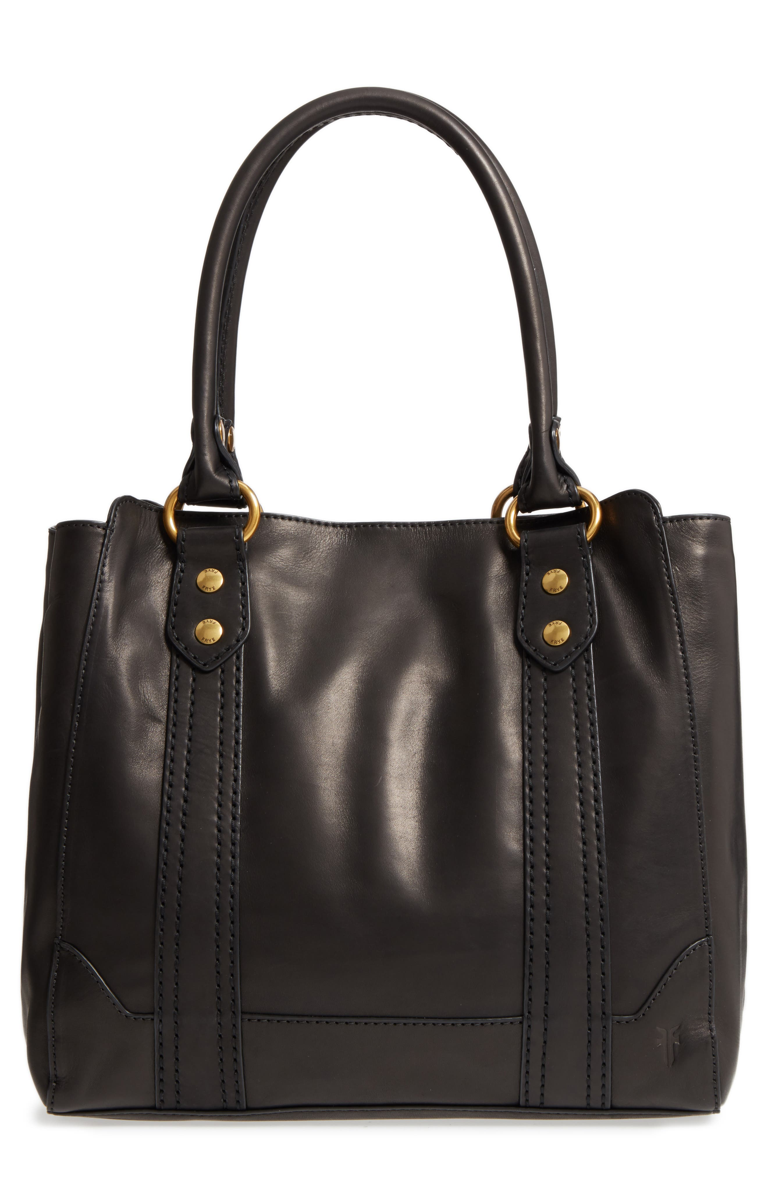 Alternate Image 1 Selected - Frye Melissa Leather Tote