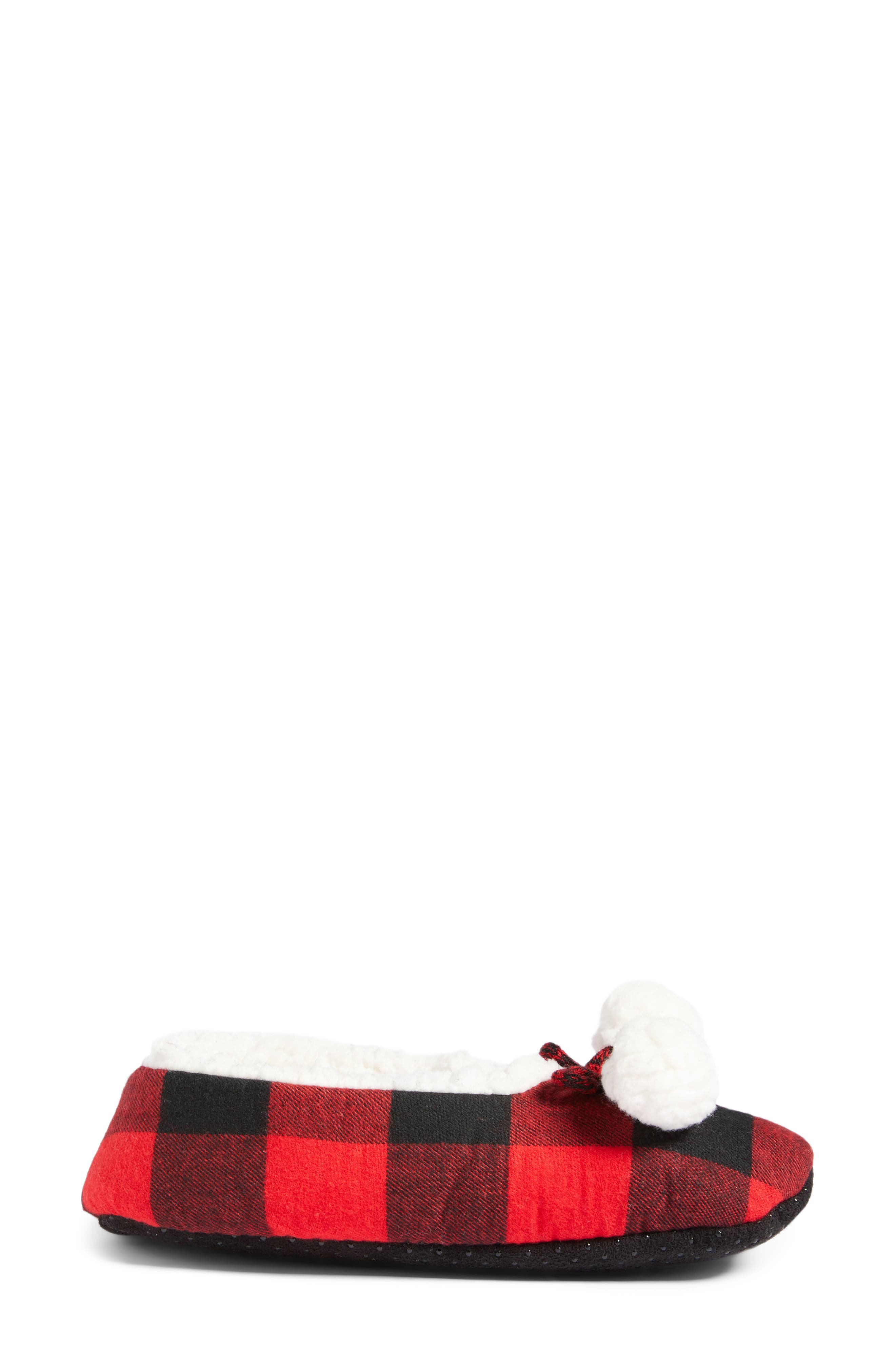 Alternate Image 3  - Make + Model Plaid Slippers