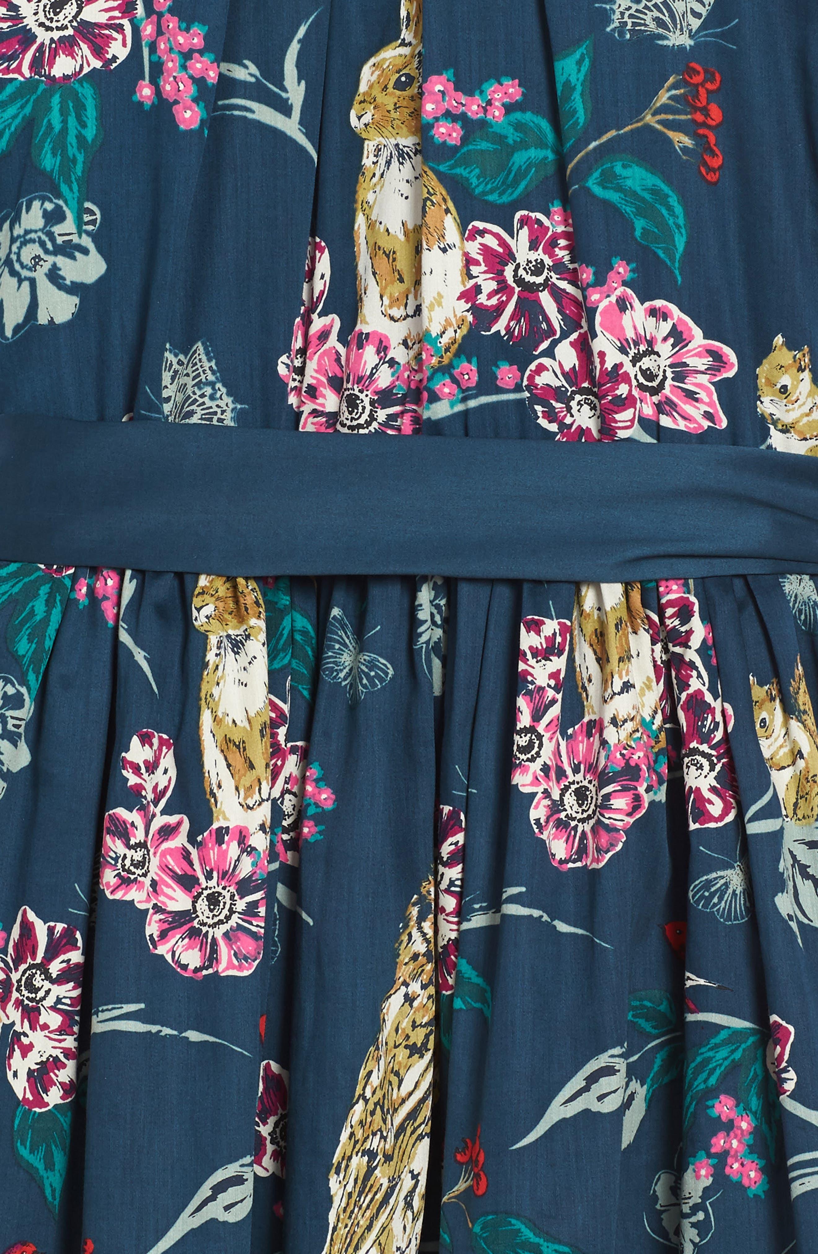 Alternate Image 2  - Tea Collection Caledonian Forest Sash Dress (Toddler Girls, Little Girls & Big Girls)