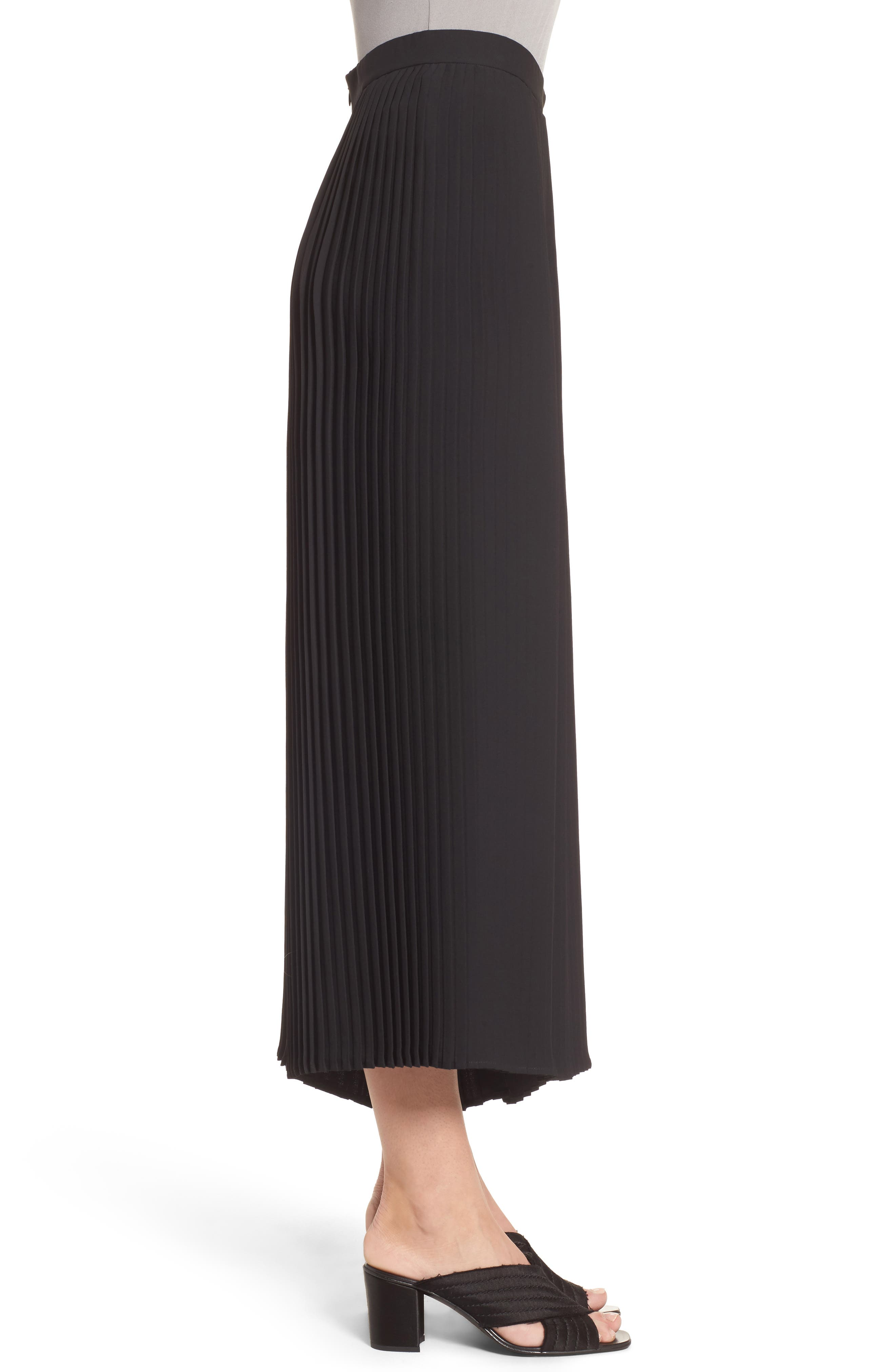 Alternate Image 3  - Eileen Fisher Wide Leg Ankle Pants (Regular & Petite)