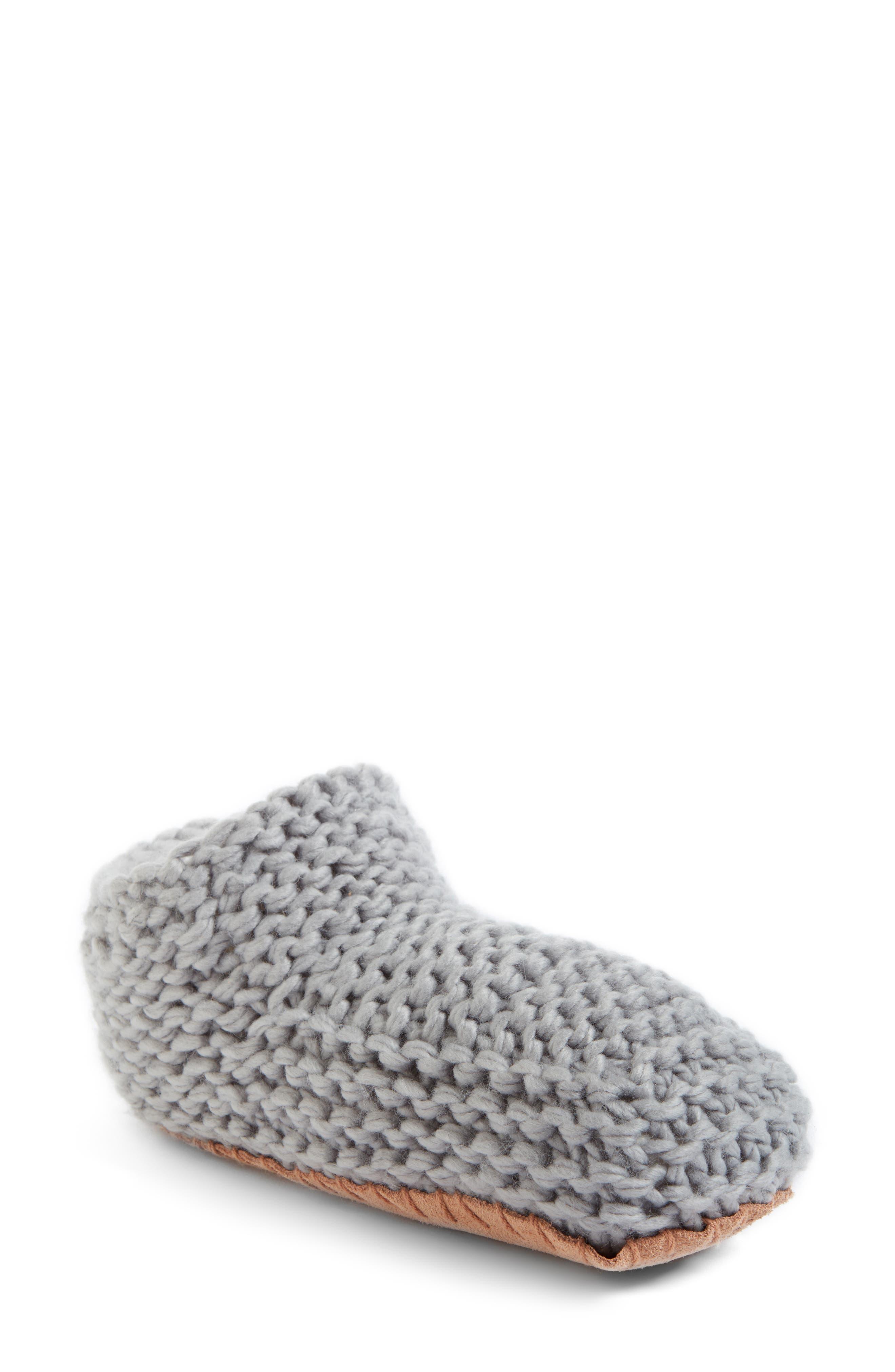 Lemon Knit Slipper Bootie