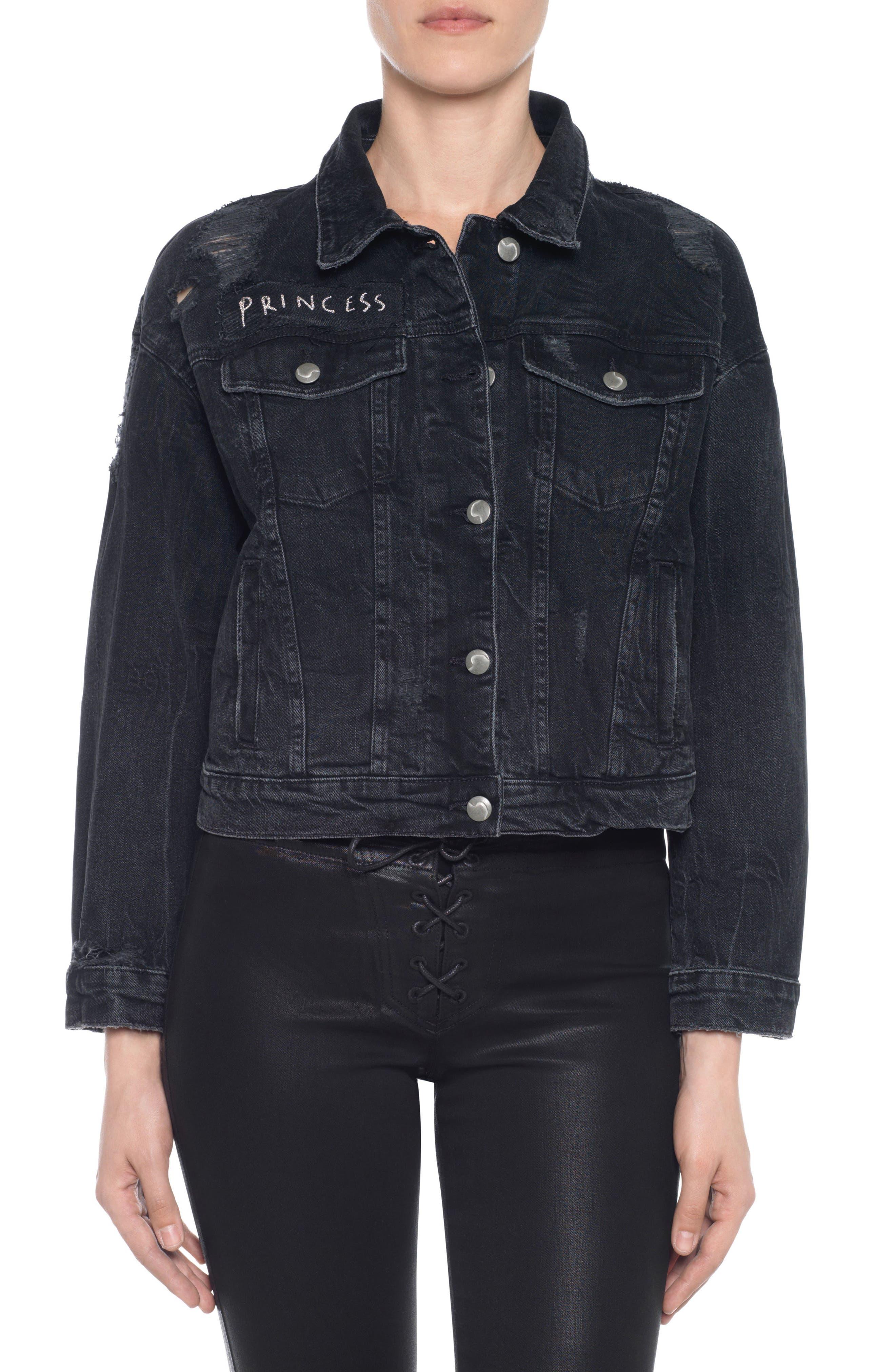 Taylor Hill x Joe's Princess Denim Jacket