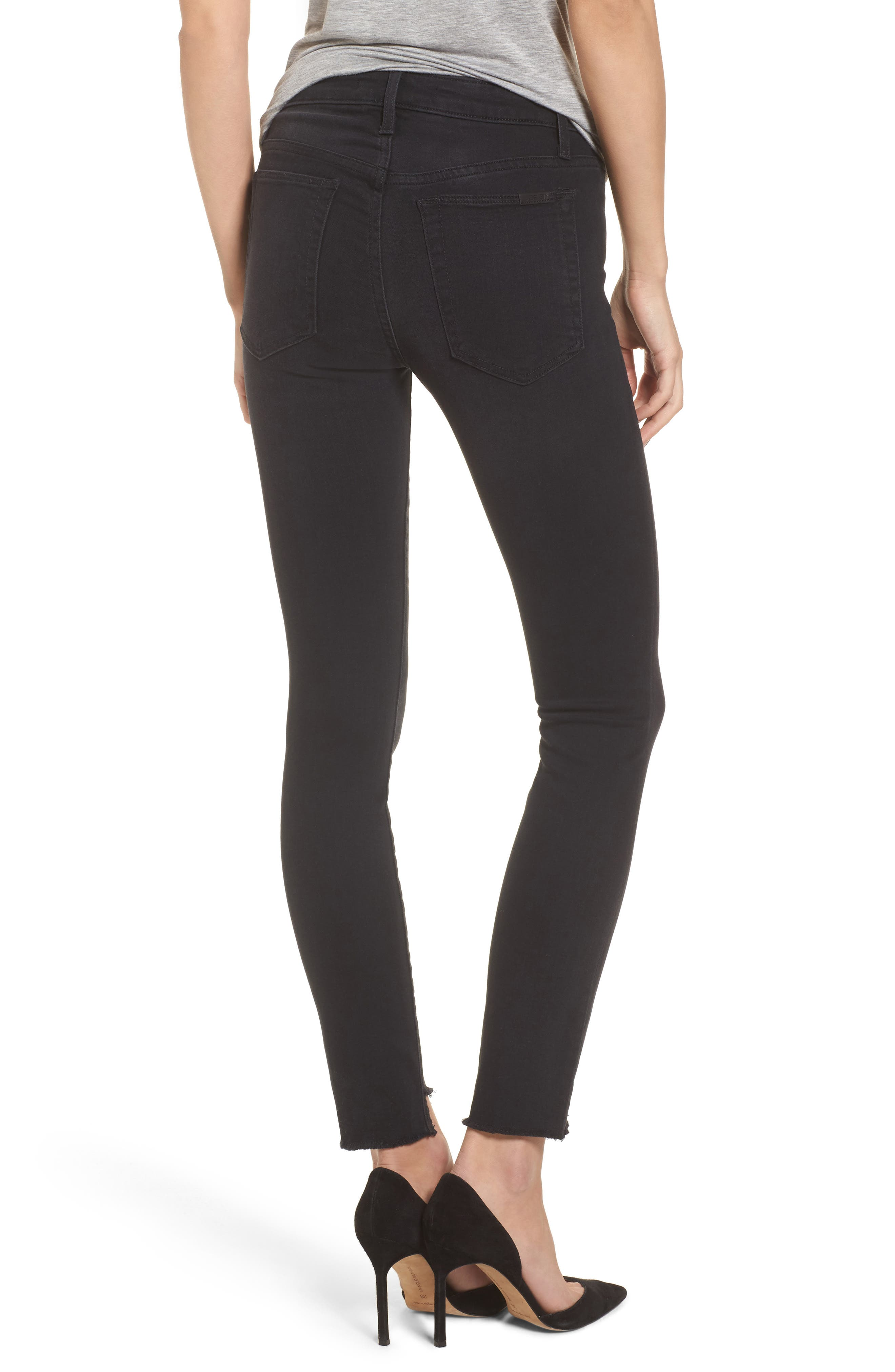 Icon Ankle Skinny Jeans,                             Alternate thumbnail 3, color,                             Iman