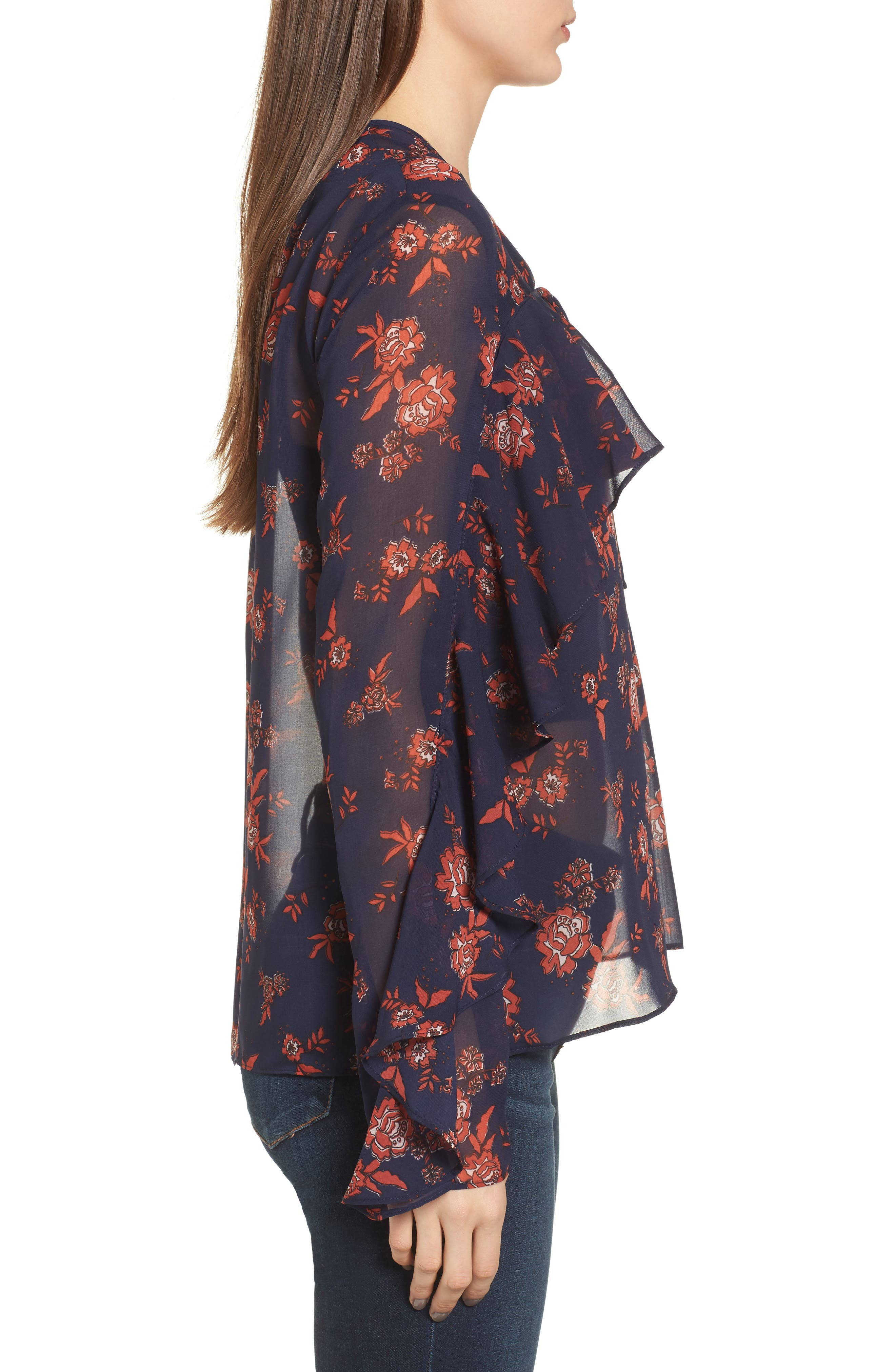 Alternate Image 3  - The Fifth Label Capital Floral Blouse