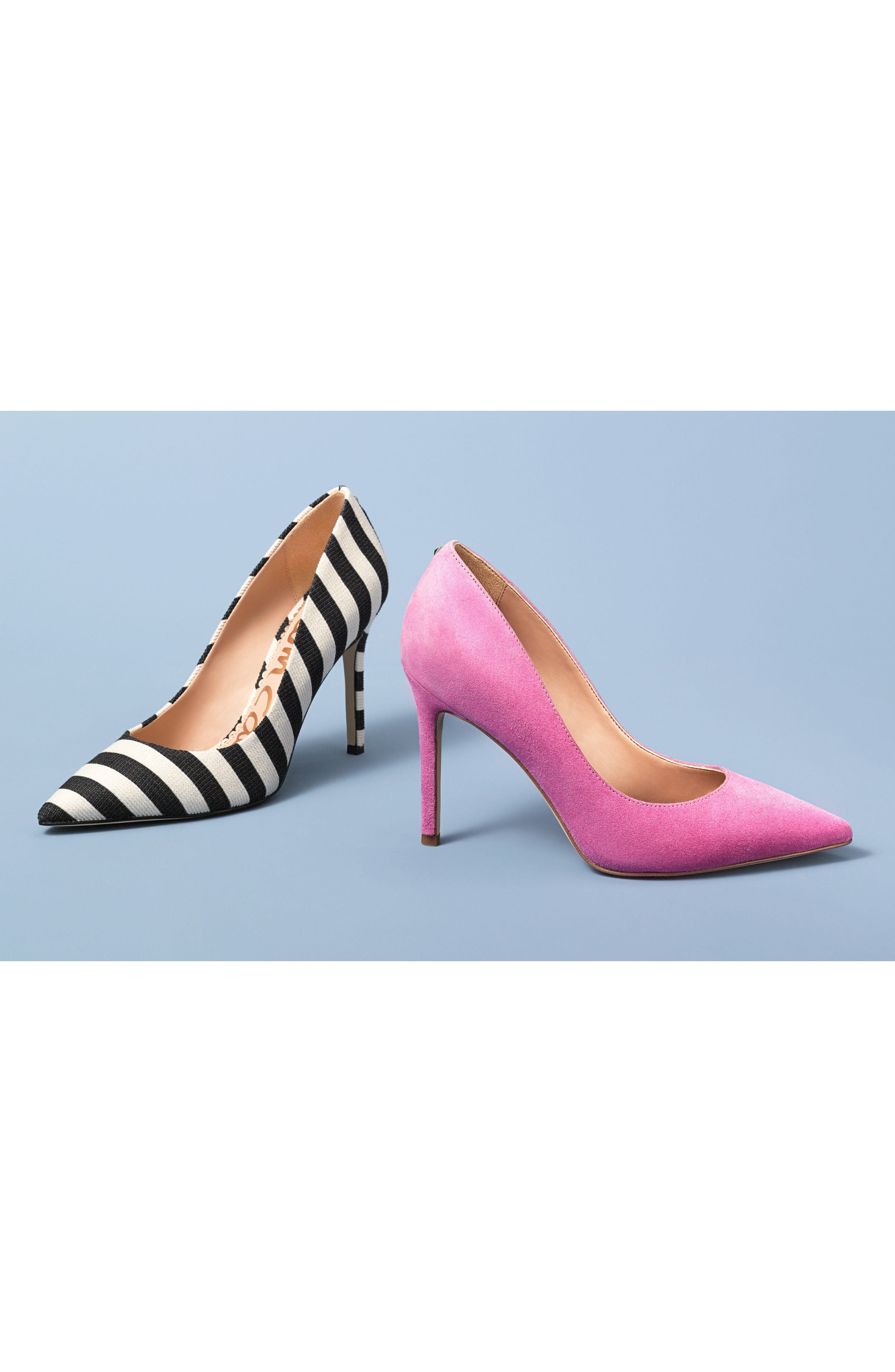 Hazel Pointy Toe Pump,                             Alternate thumbnail 8, color,