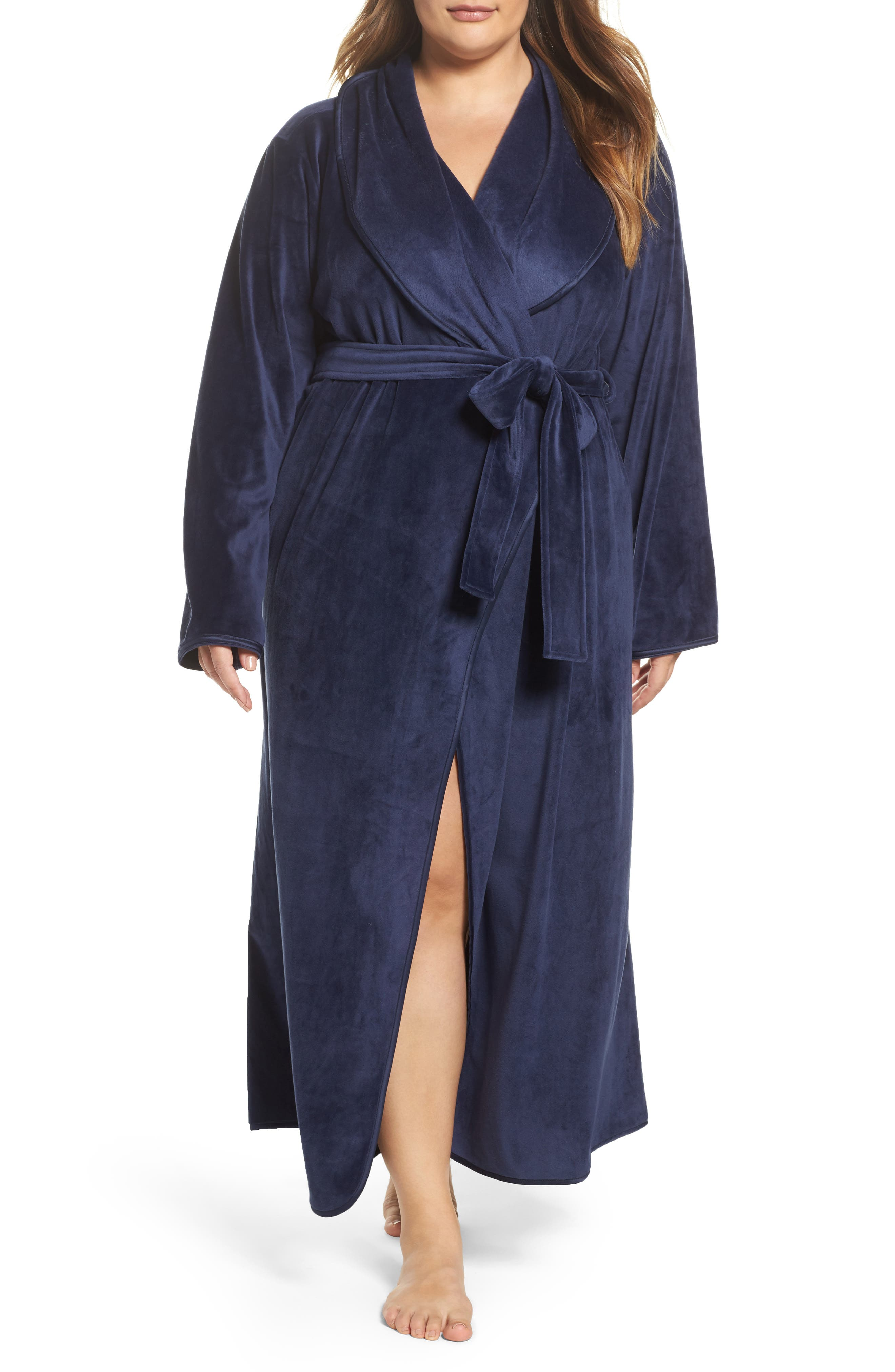 Nordstrom Lingerie Luxe Shawl Robe (Plus Size)