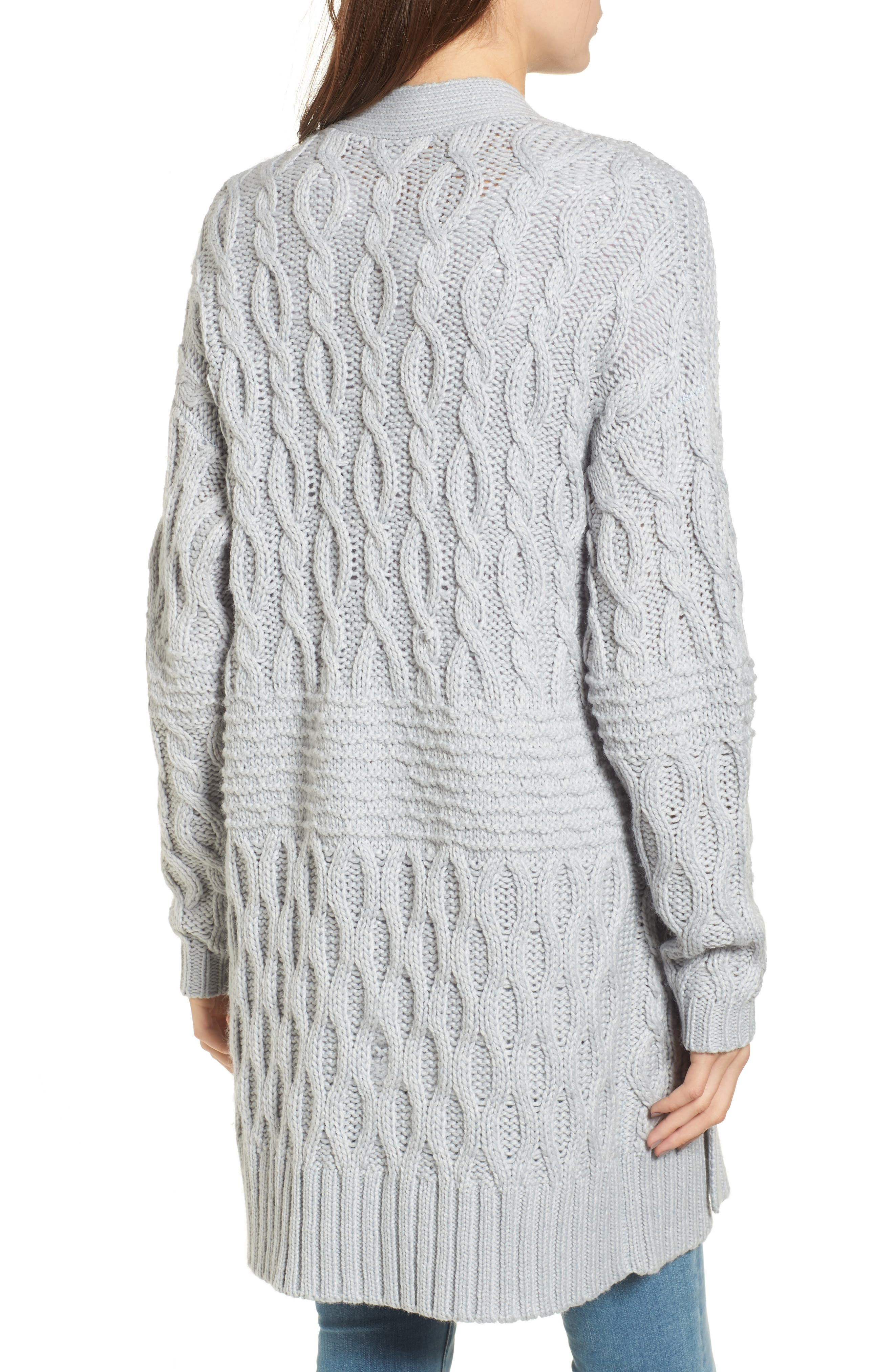 Alternate Image 2  - BP. Cable Knit Cardigan