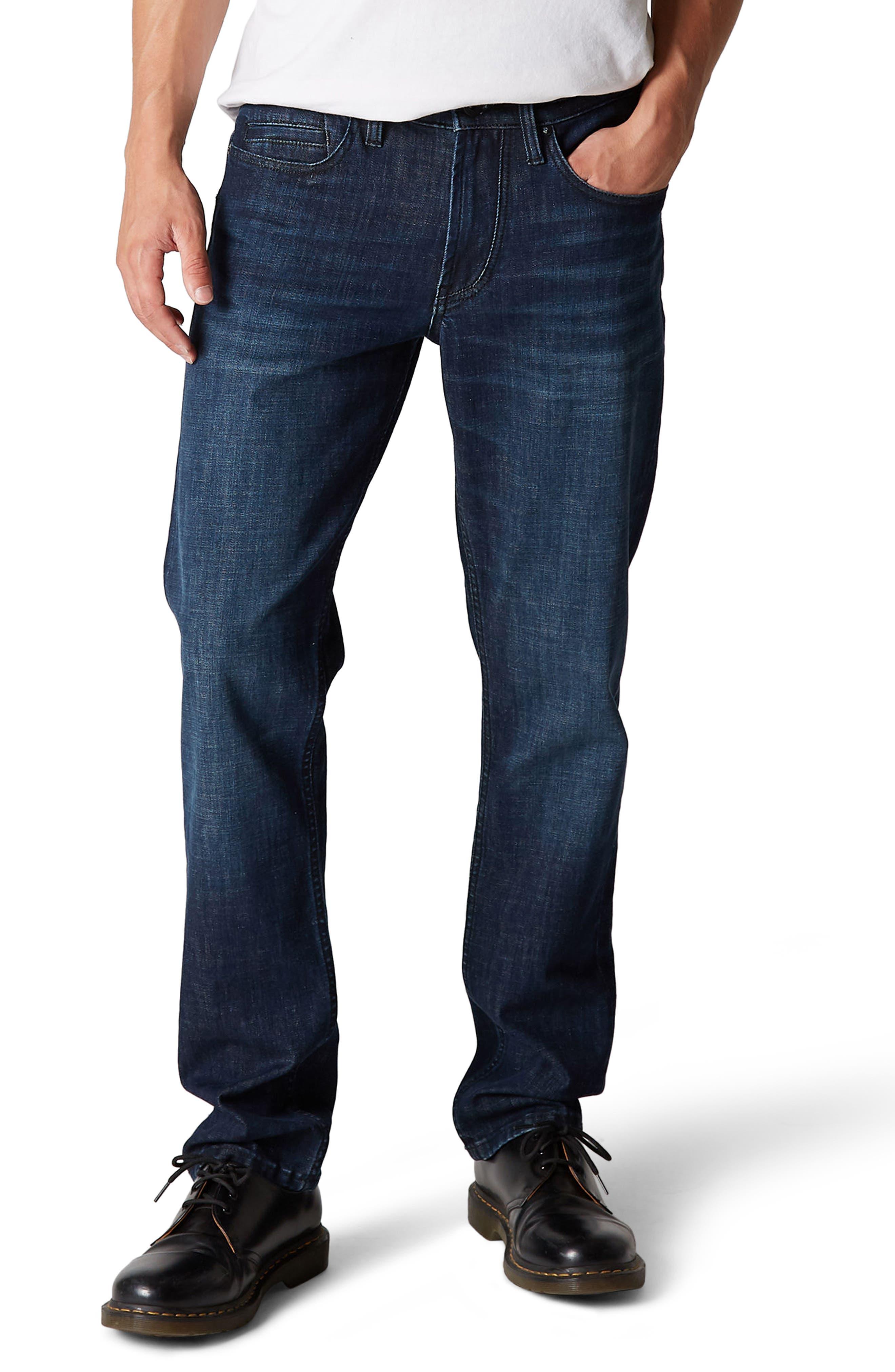 Main Image - BLANKNYC Wooster Slim Fit Jeans (Ten Strikes)