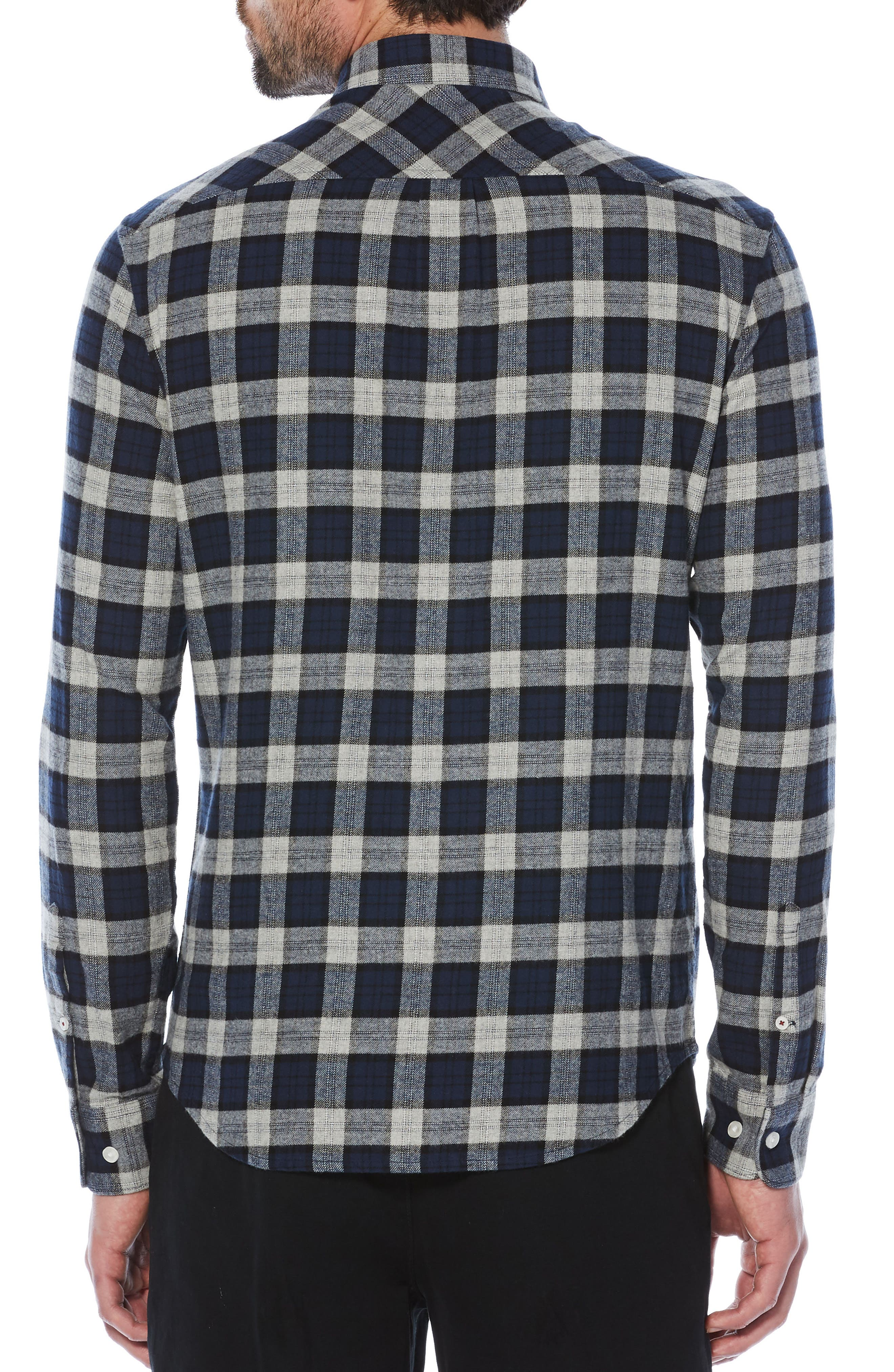 Alternate Image 2  - Original Penguin Plaid Flannel Shirt