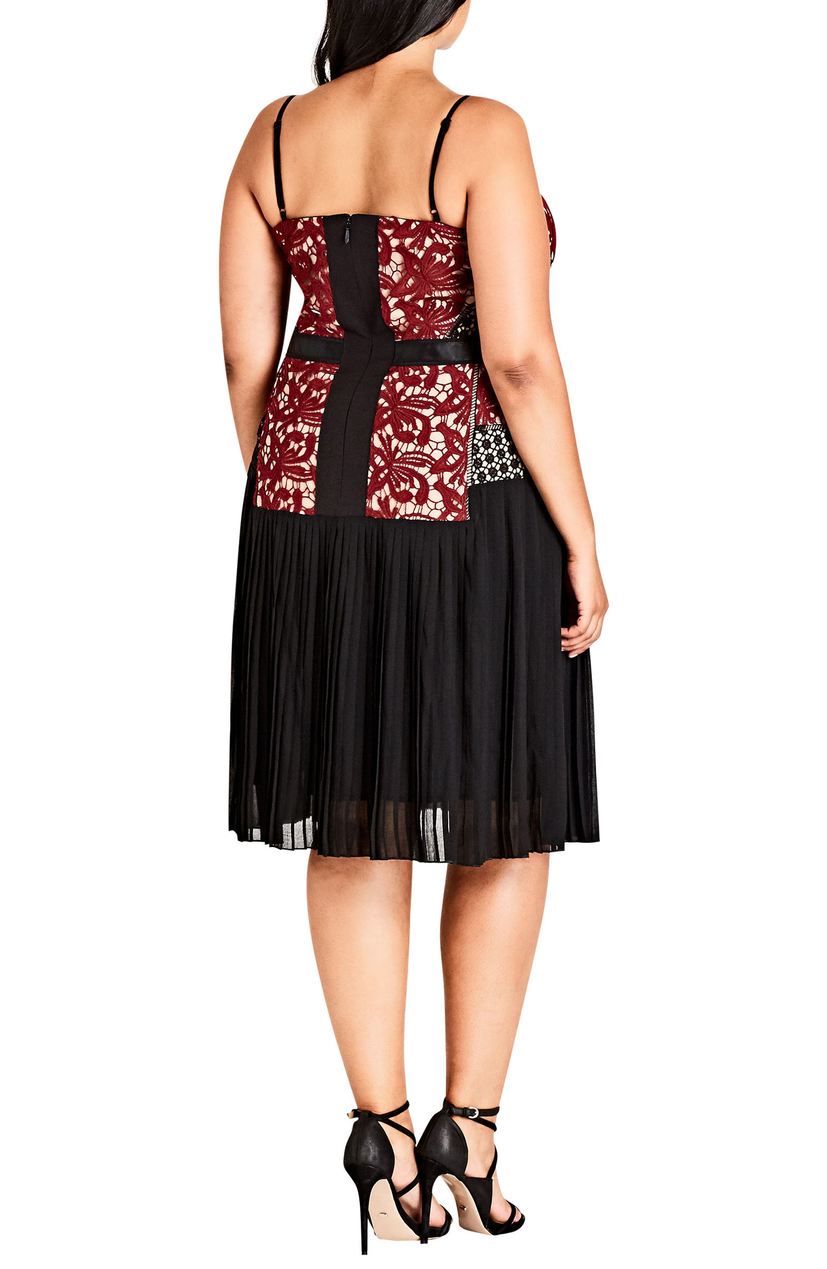 Alternate Image 2  - City Chic Obey Me Dress (Plus Size)