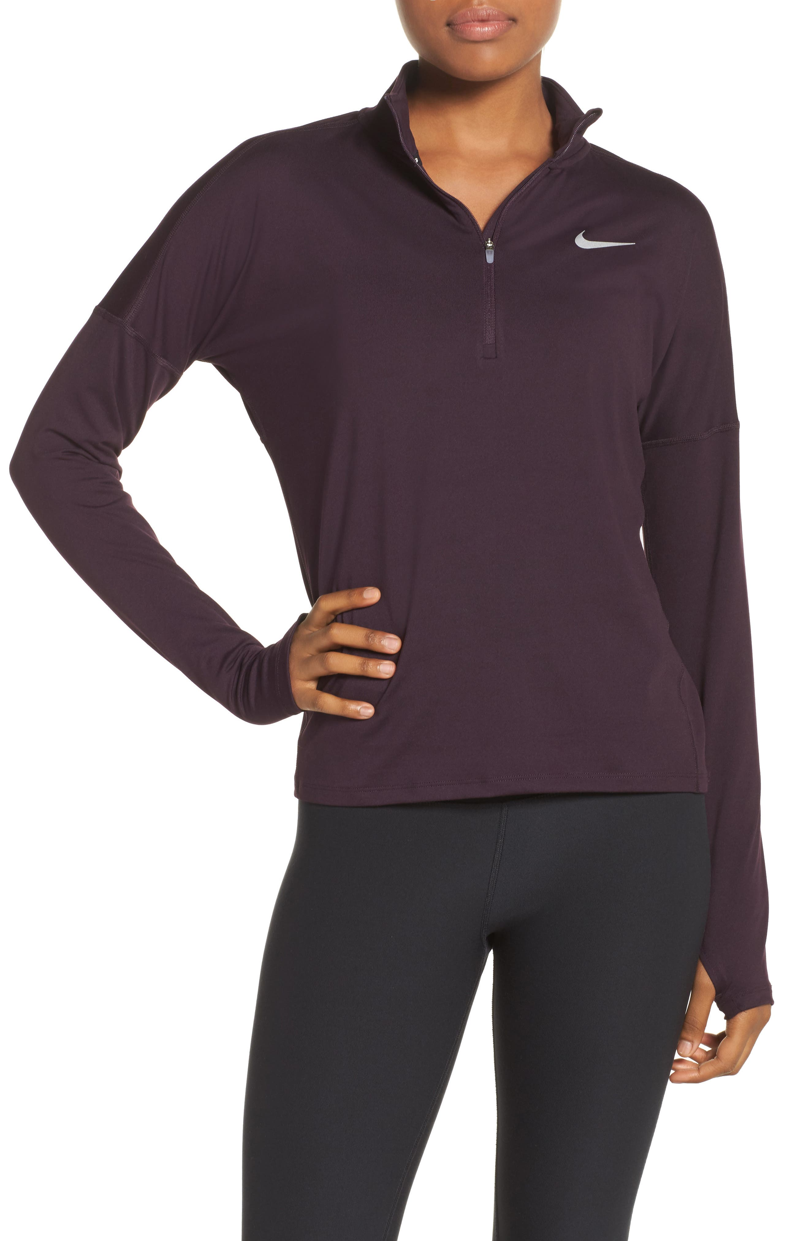 Alternate Image 1 Selected - Nike Dry Element Half Zip Top