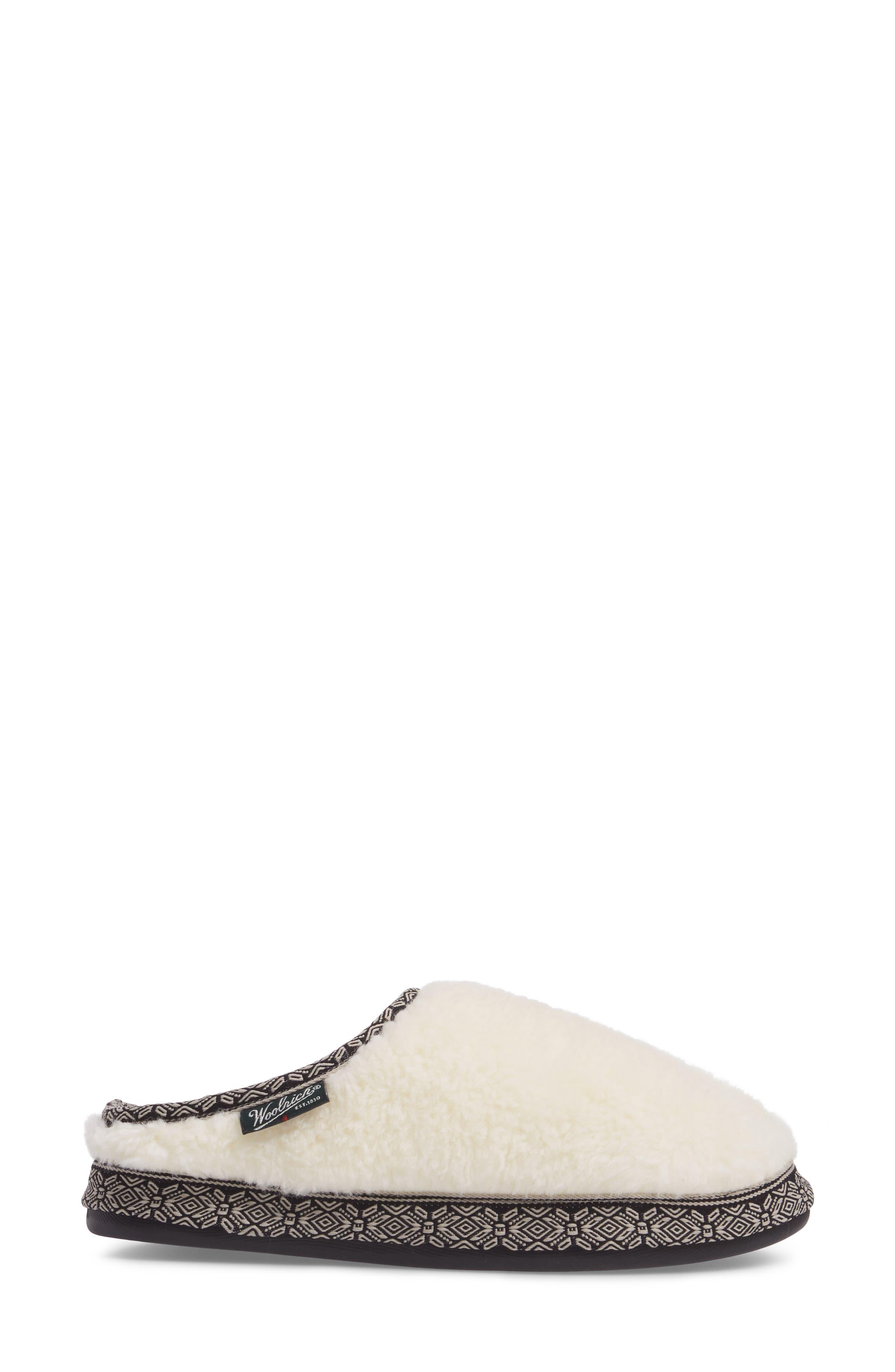 Whitecap Mule Slipper,                             Alternate thumbnail 3, color,                             Creampuff