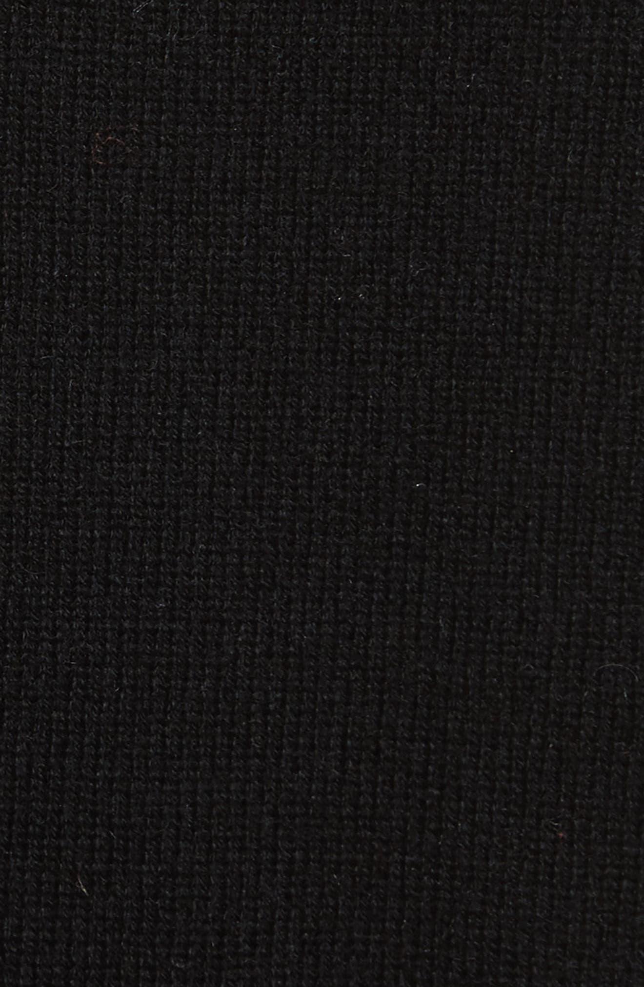 Clarence Sweater,                             Alternate thumbnail 5, color,                             Black Multi
