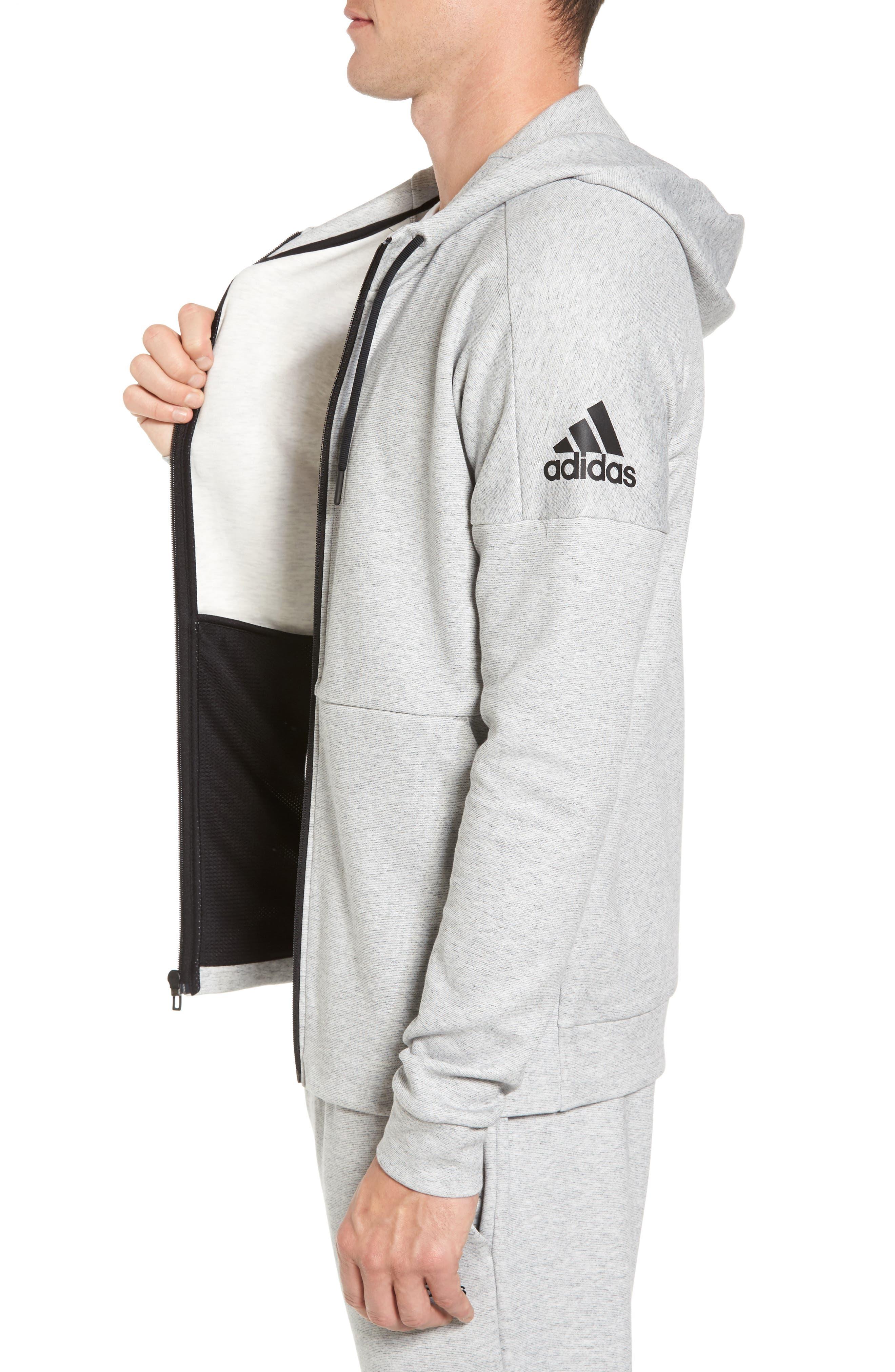 Alternate Image 3  - adidas ID Stadium Zip Hoodie