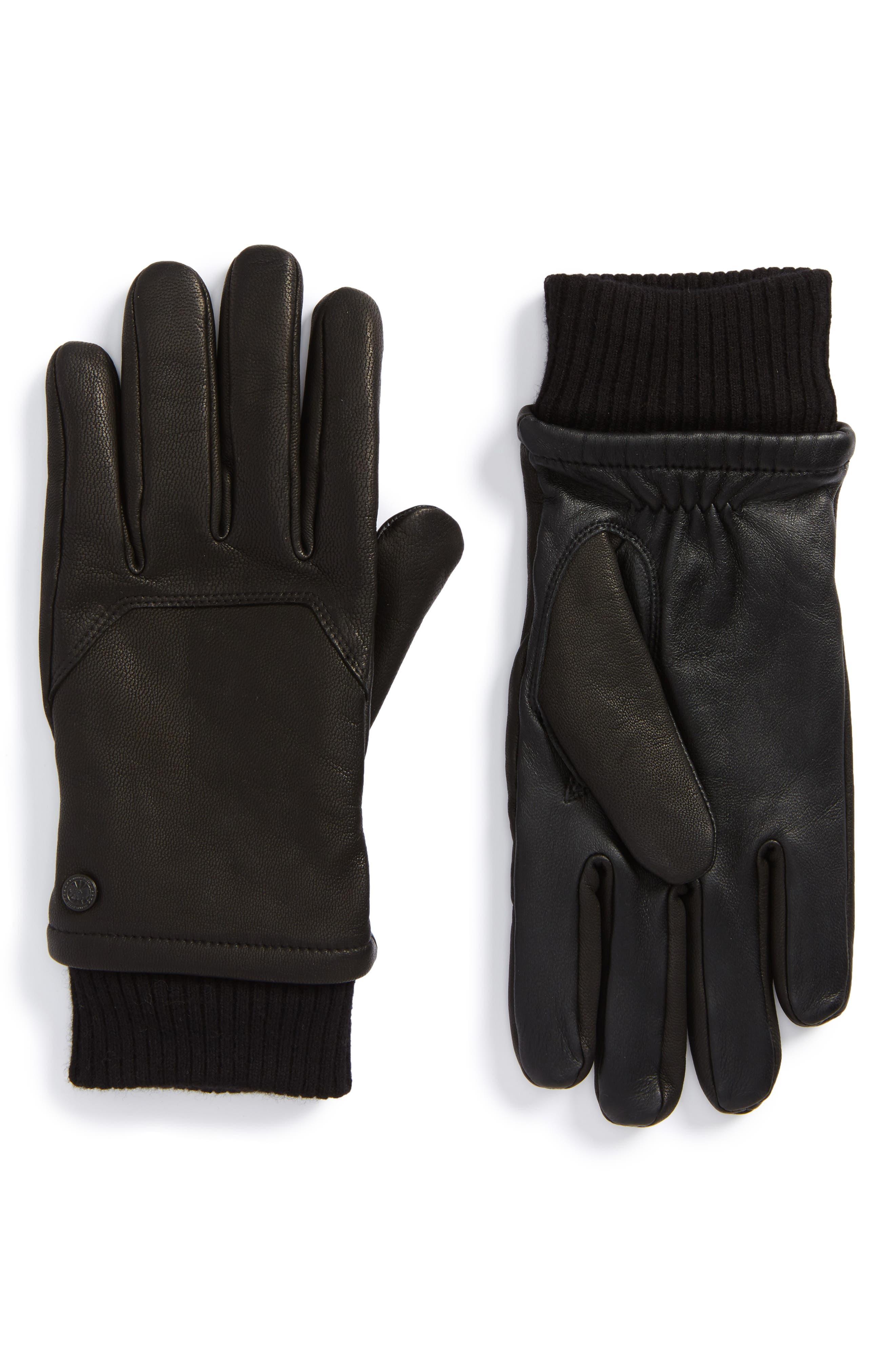Workman Gloves,                             Main thumbnail 1, color,                             Black