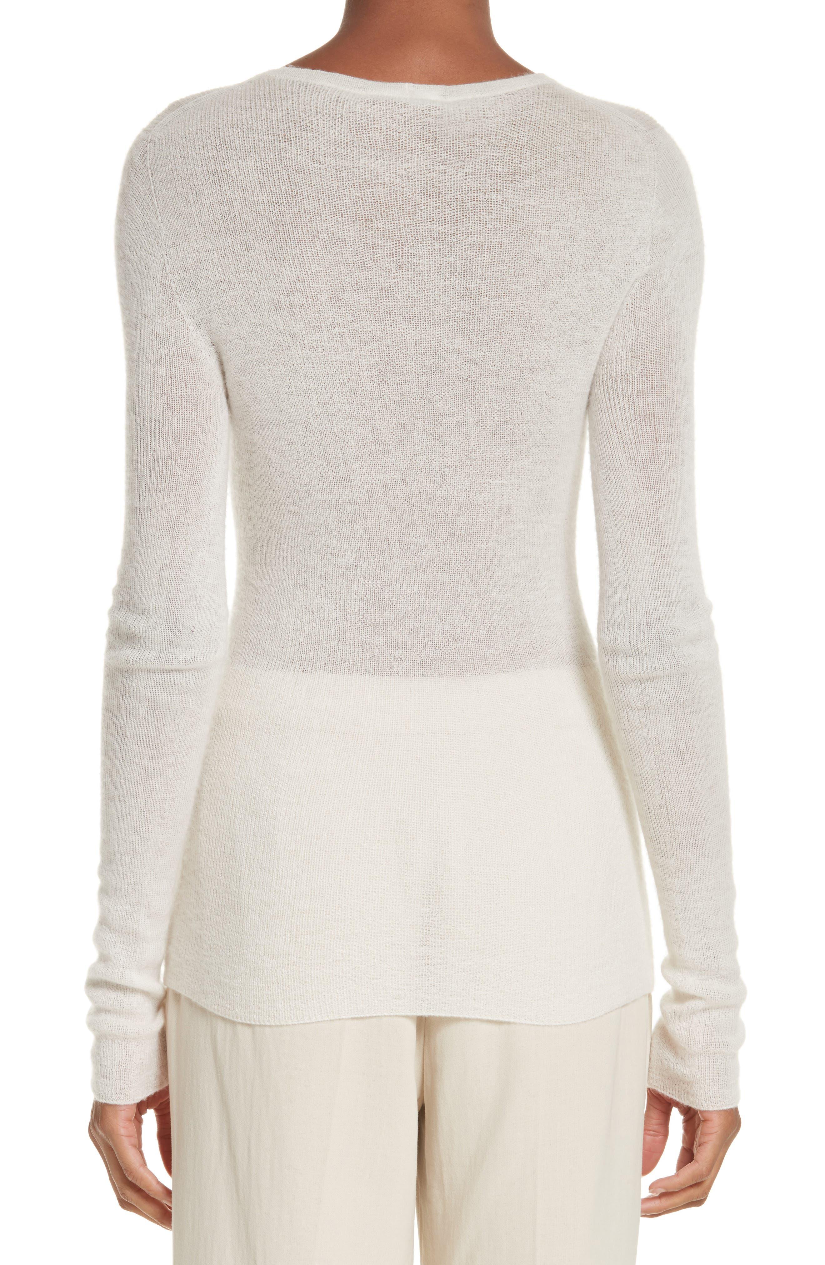 Cabaret Cashmere Sweater,                             Alternate thumbnail 2, color,                             Silk