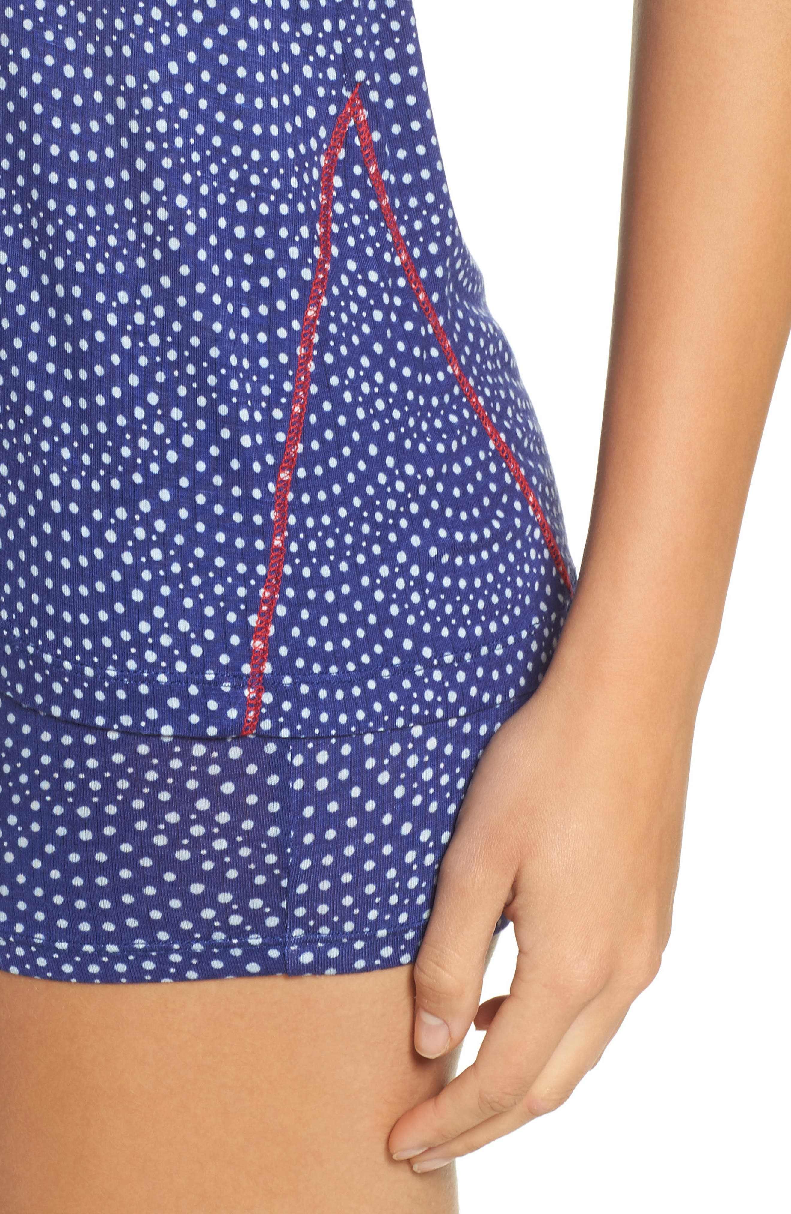 Alternate Image 4  - Honeydew Intimates Rib Pajamas