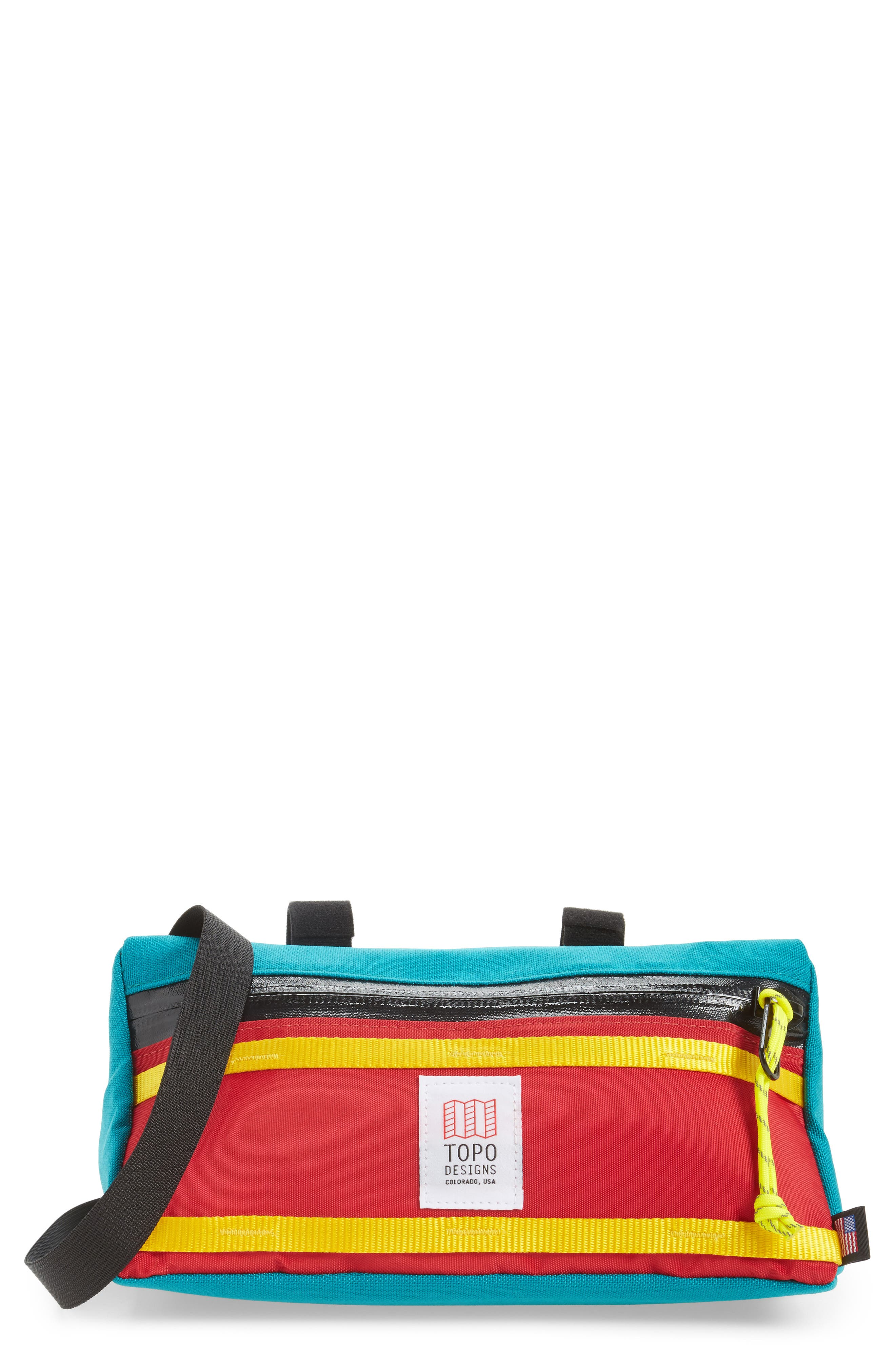 TOPO DESIGNS BIKE BAG - BLUE