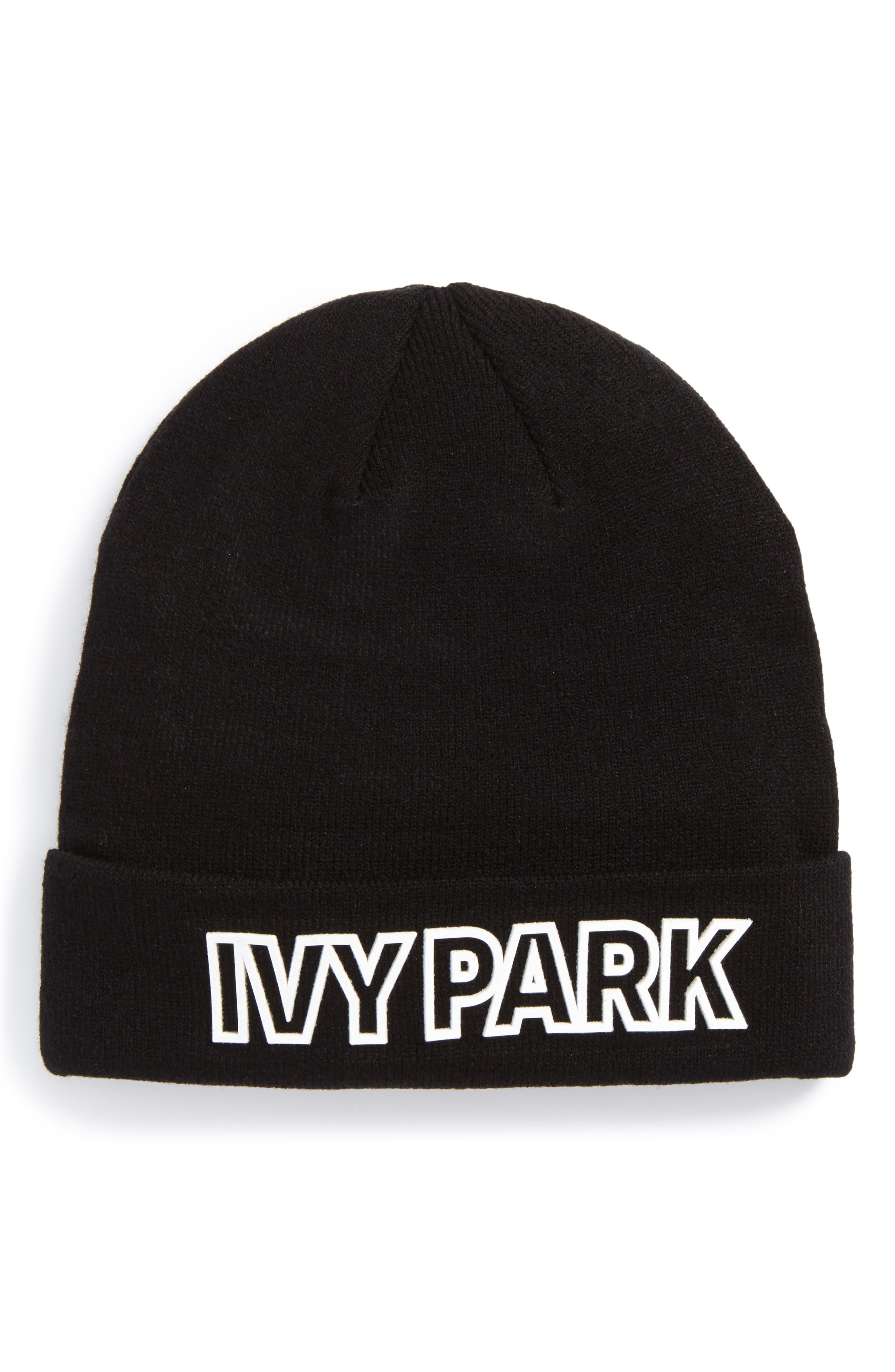 IVY PARK® Silicone Logo Beanie