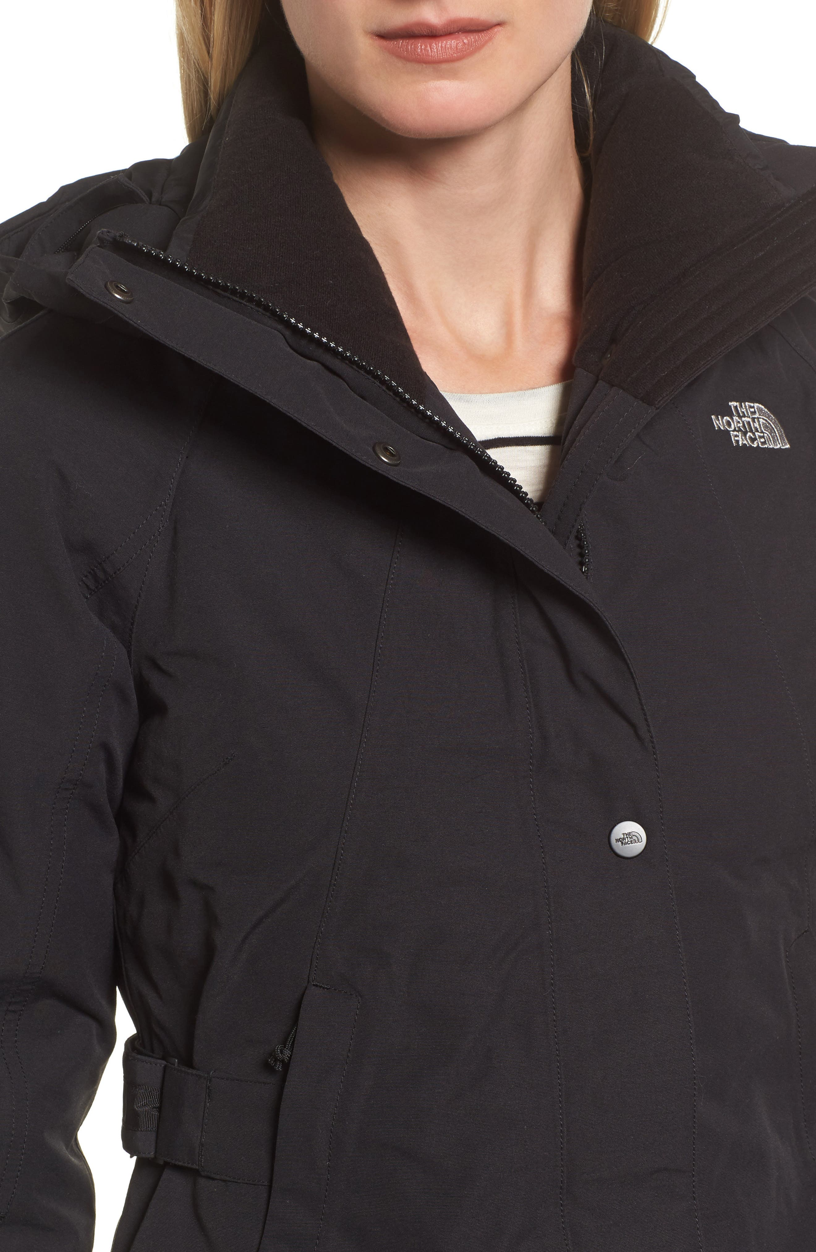 Alternate Image 4  - The North Face Outer Boroughs Waterproof 550-Fill Power Down Parka with Faux Fur Trim