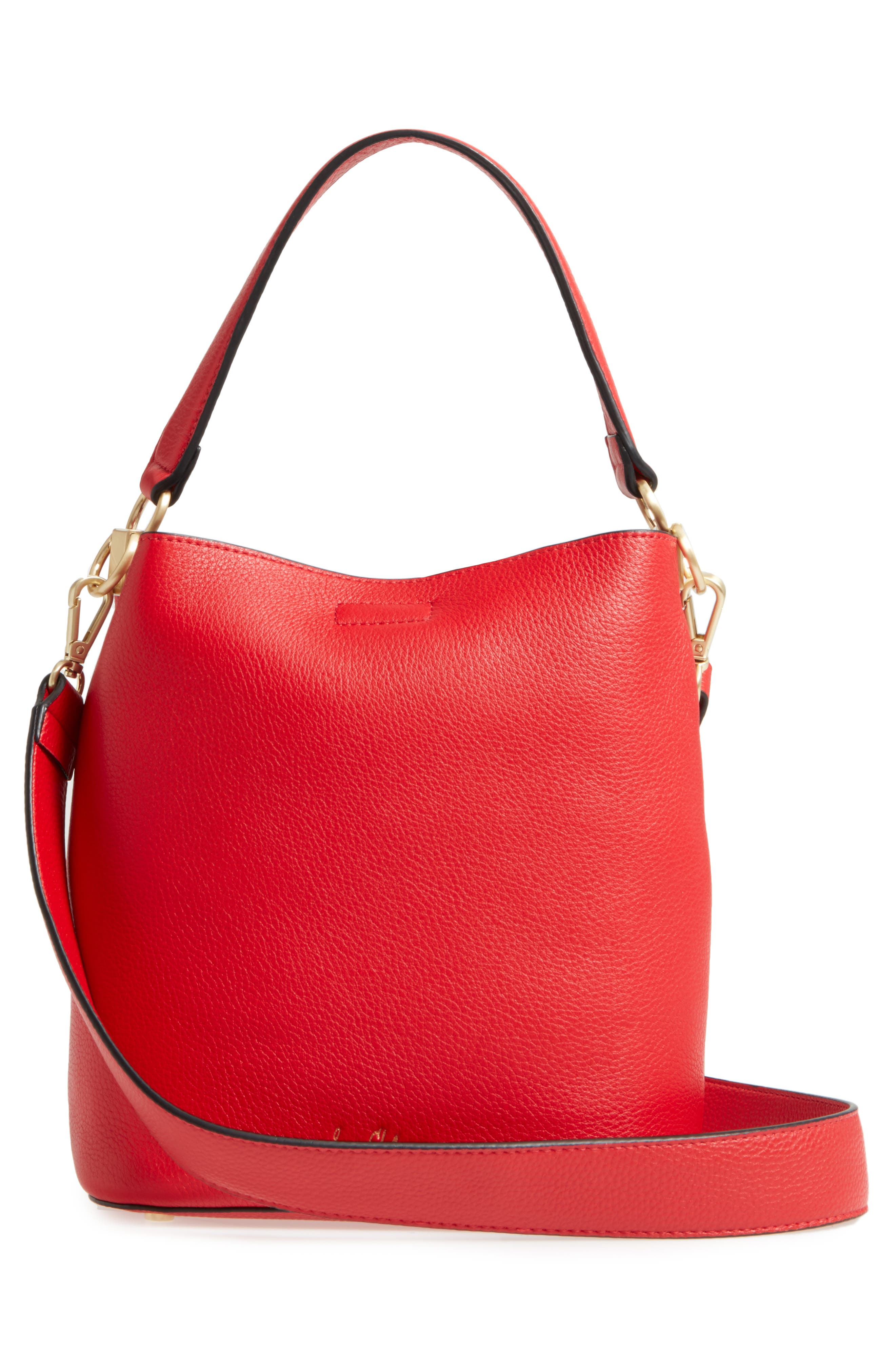 Alternate Image 2  - Sam Edelman Small Nya Faux Leather Bucket Bag