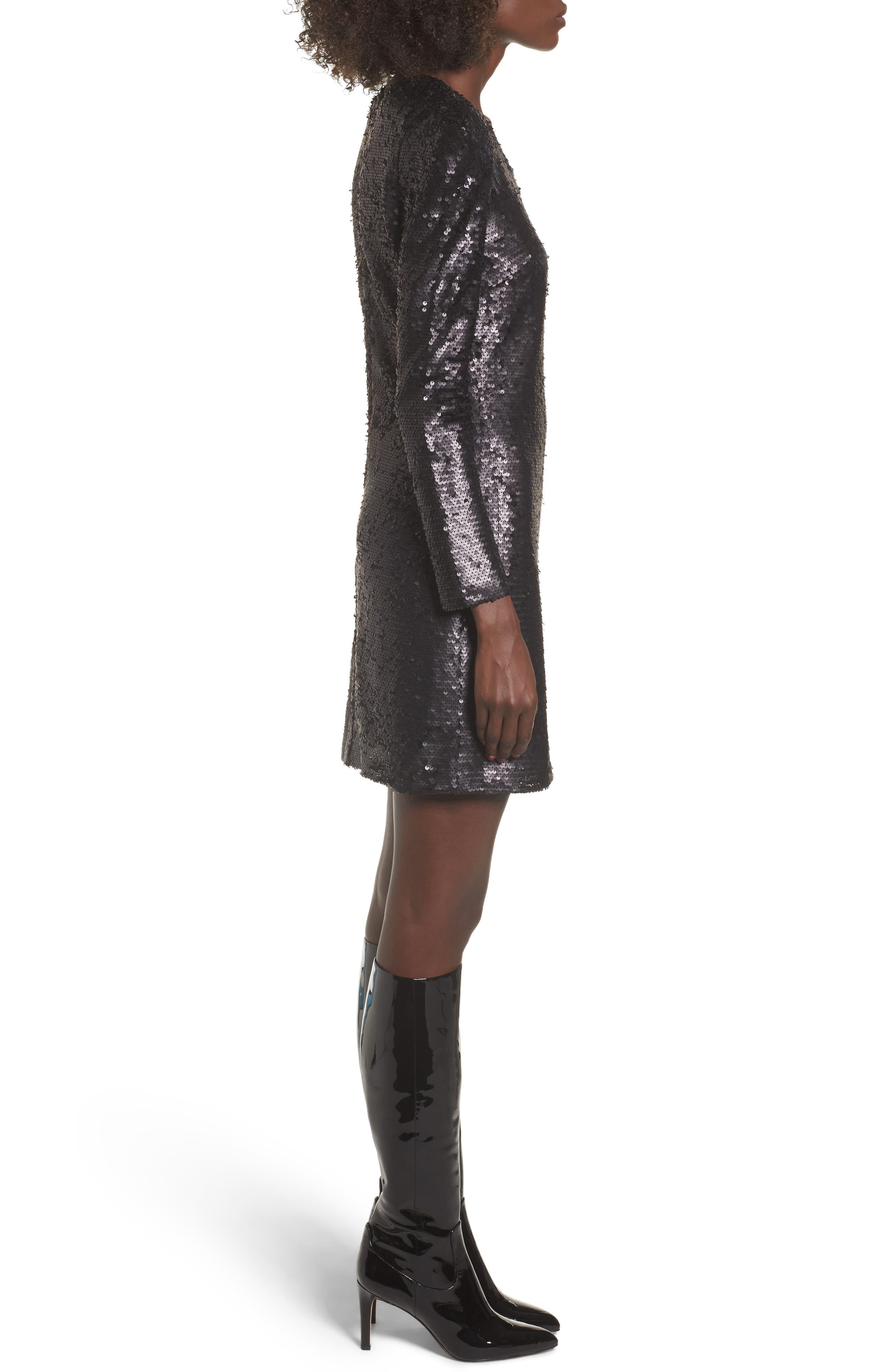 Alternate Image 3  - Leith Sequin Dress