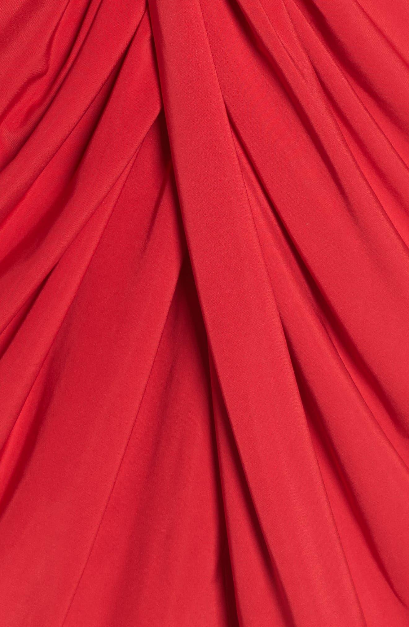 Alternate Image 5  - MISA Los Angeles Teget Knot Front Dress