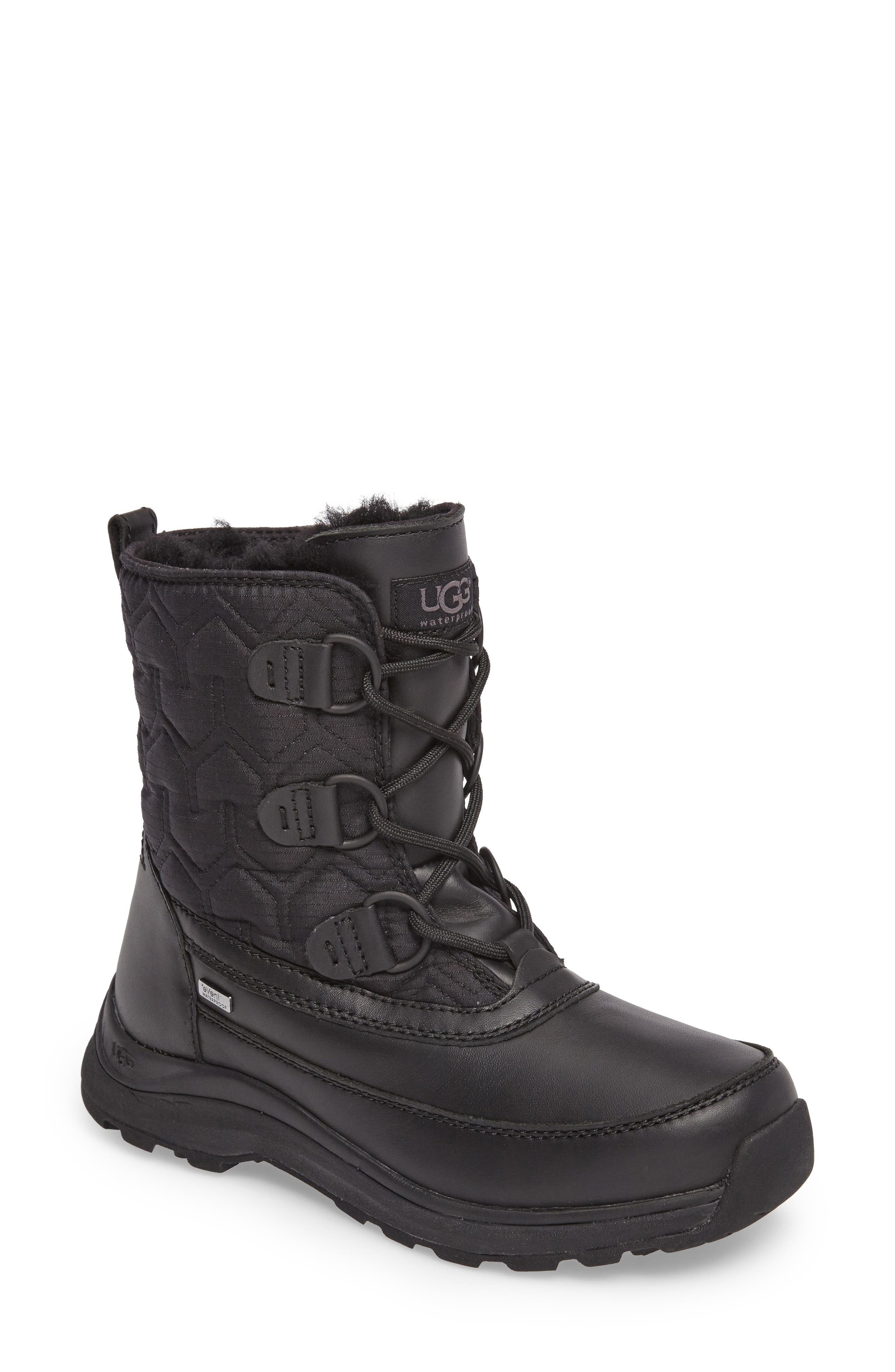 Alternate Image 1 Selected - UGG® Lachlan Waterproof Insulated Snow Boot (Women)